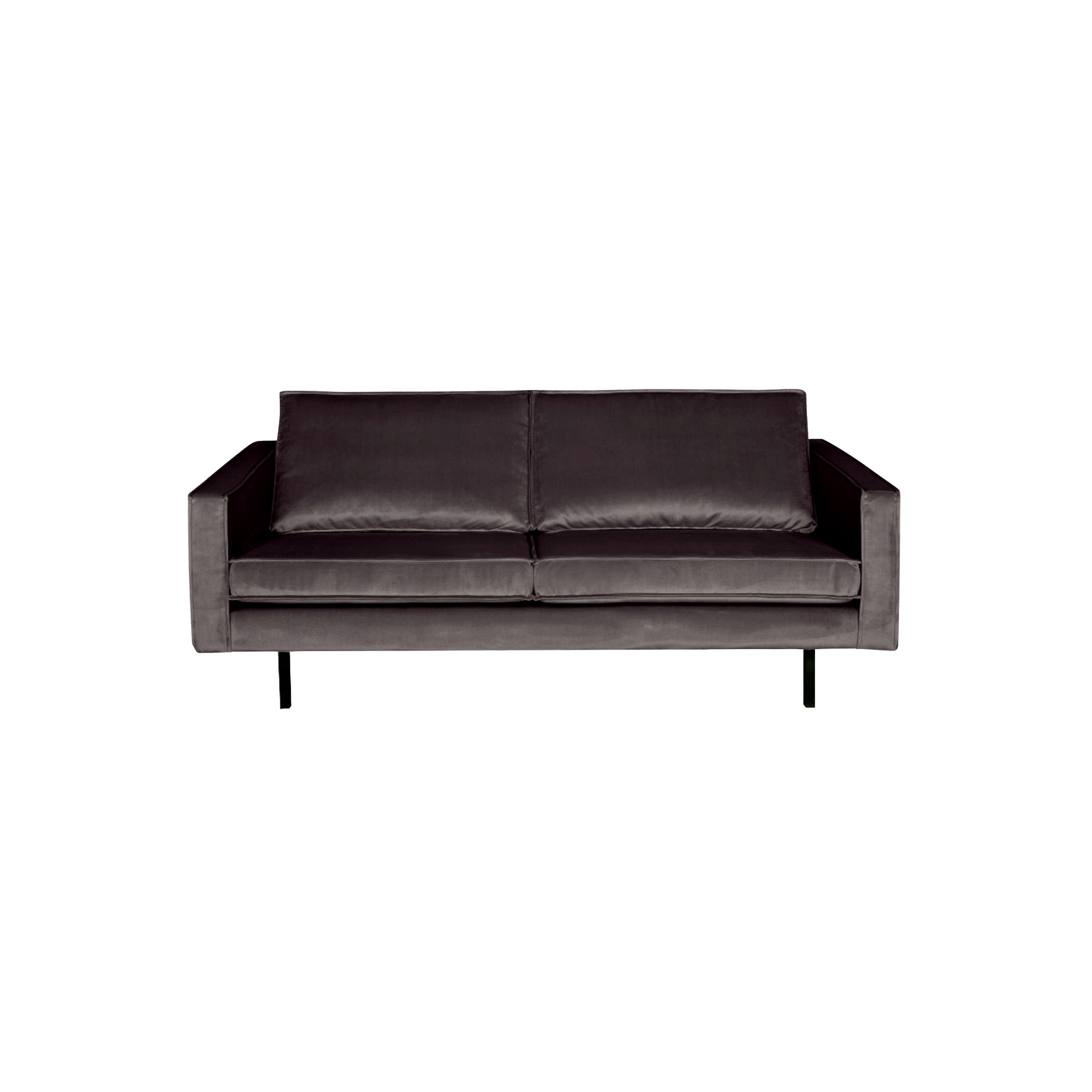 Be Pure Home Rodeo Bank 2,5-zits Velvet Antraciet