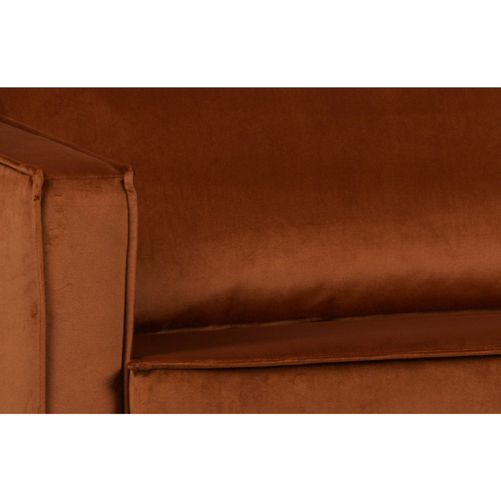 Be Pure Home Rodeo Daybed Left Velvet Roest