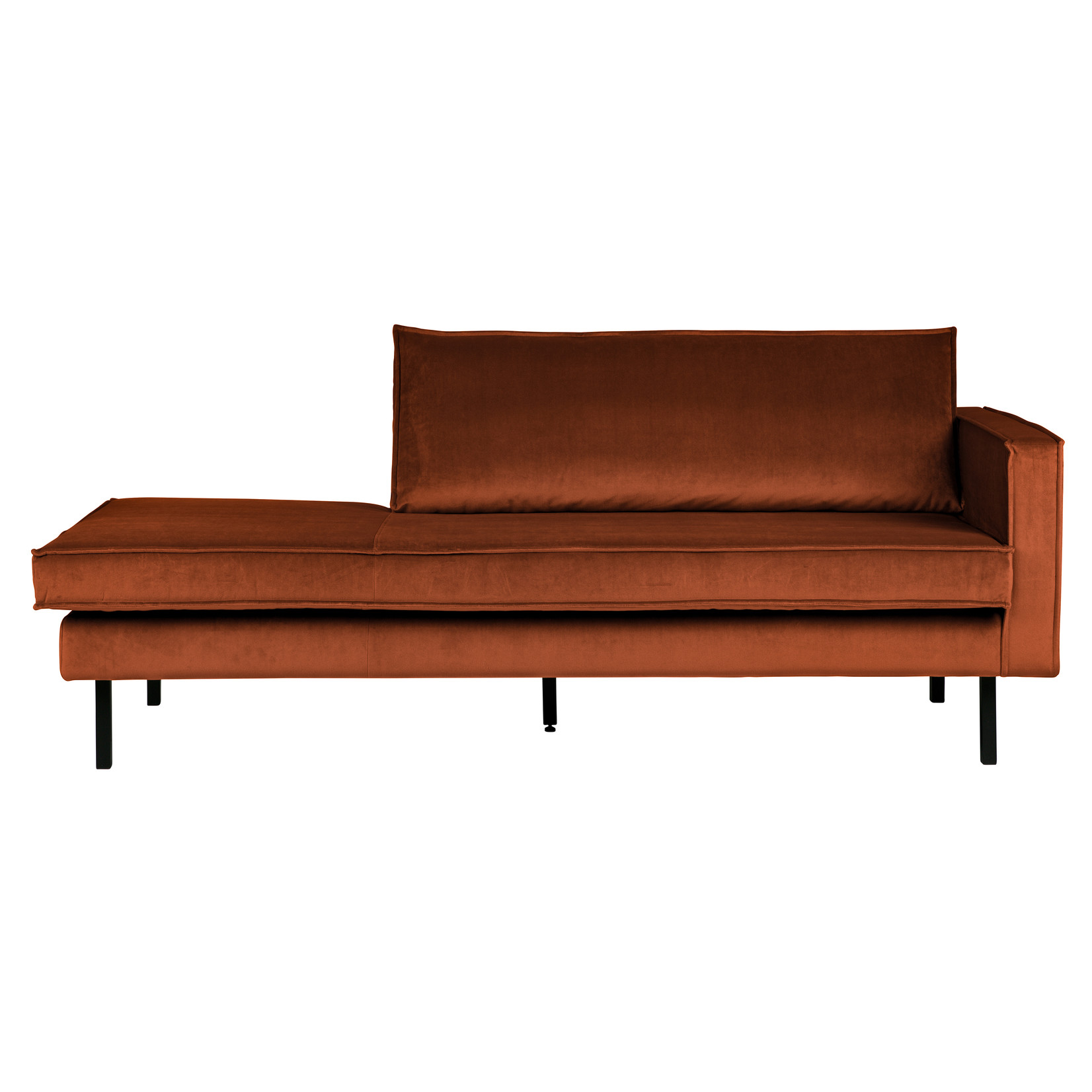 Be Pure Home Rodeo Daybed Right Velvet Roest