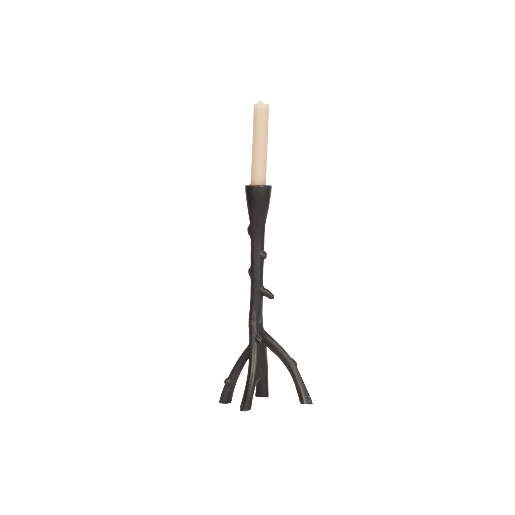Be Pure Home Branch Kandelaar Metaal Zwart 31cm*