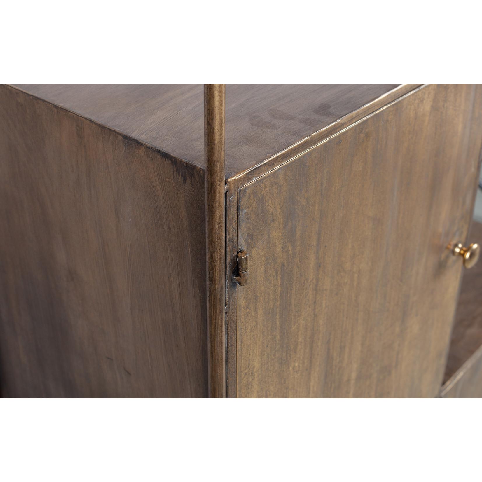 Be Pure Home Chief Vakkenkast Metaal Antique Brass