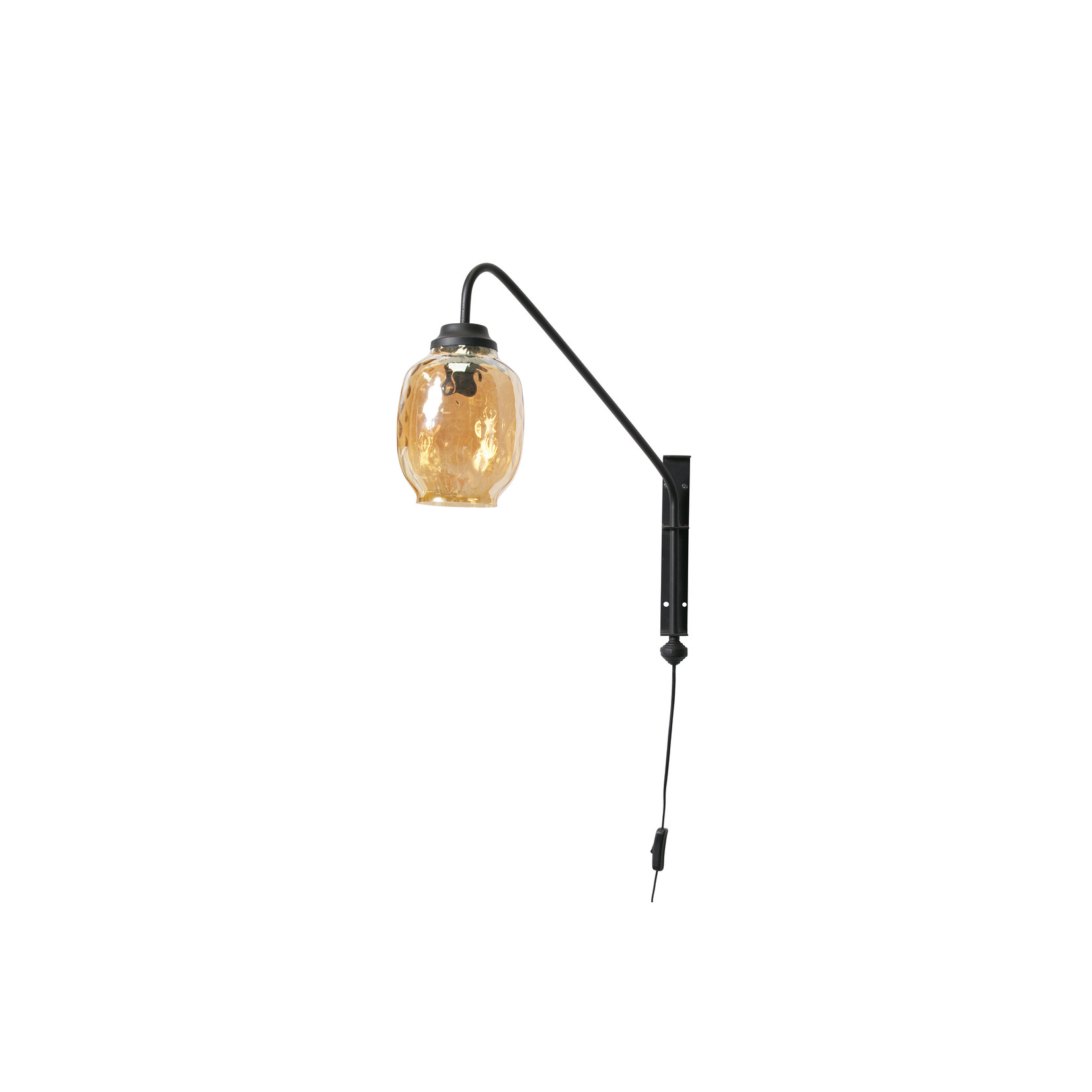 Be Pure Home Bubble Wandlamp Glas Antique Brass*