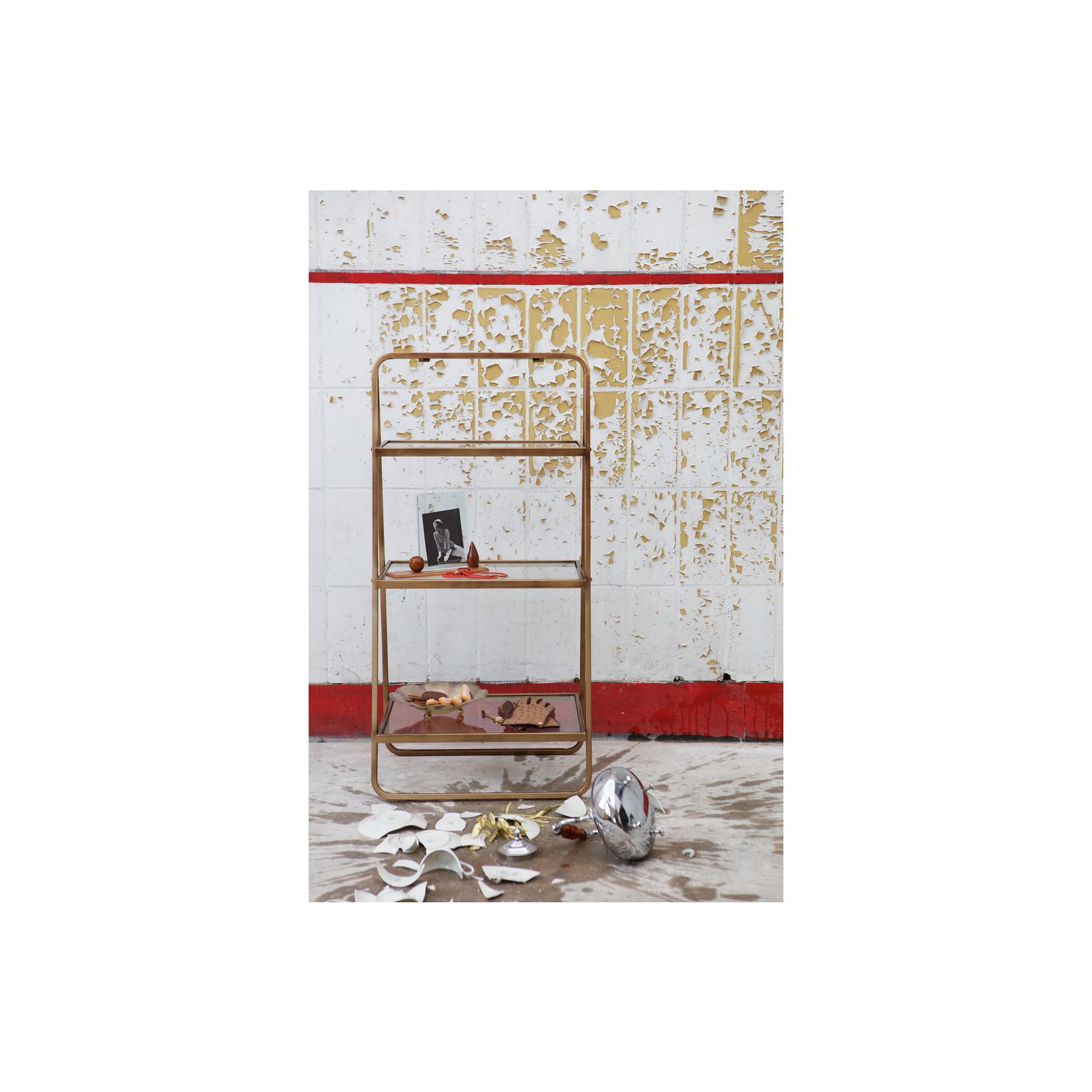 Be Pure Home Goddess Bijzetrek Antique Brass