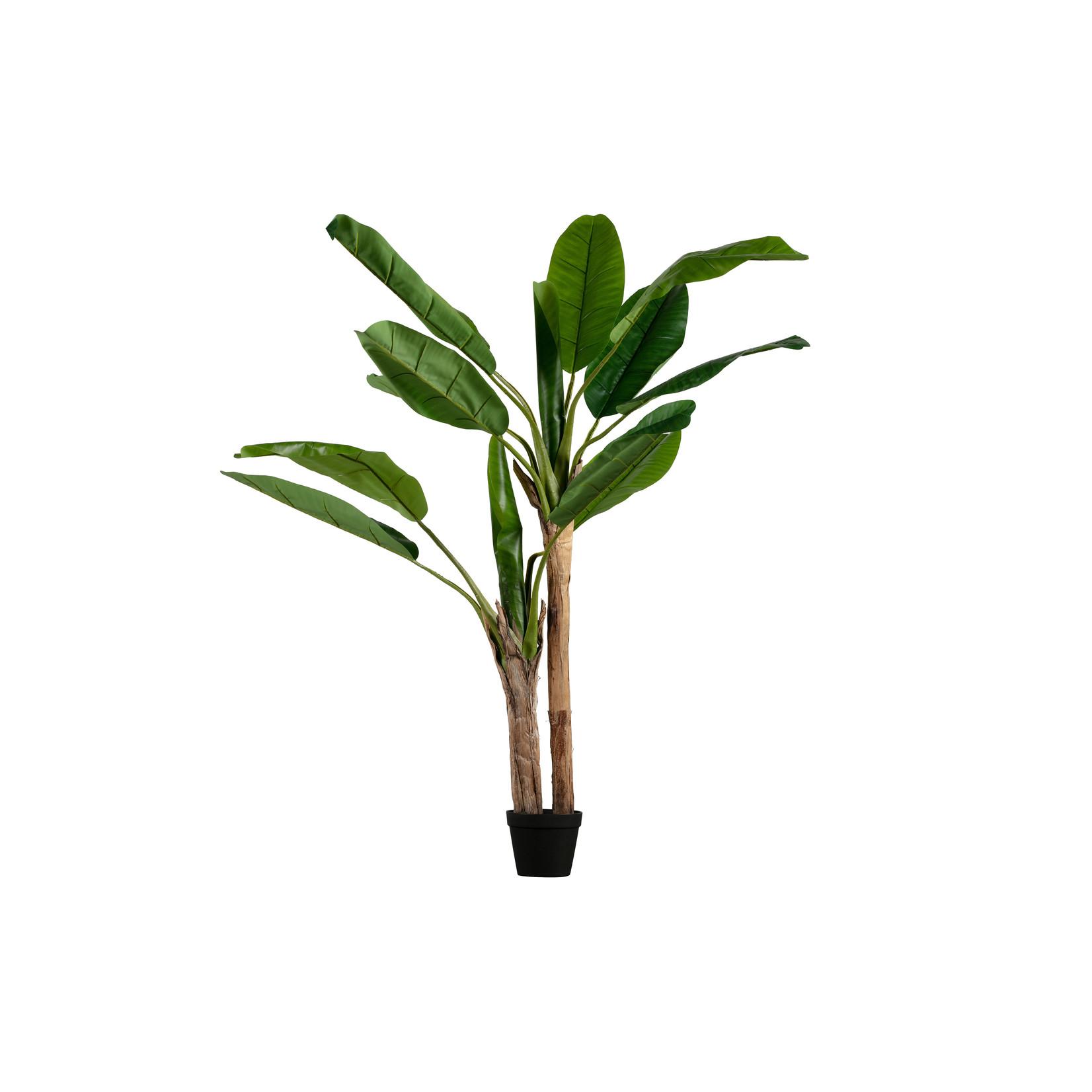 Woood Bananenplant Kunstplant Groen 138cm