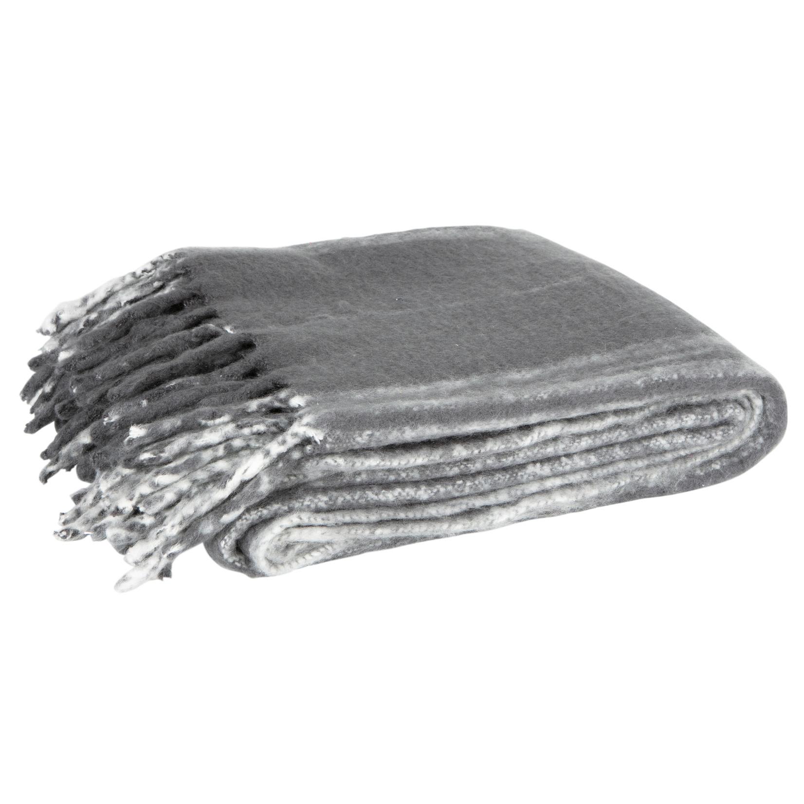 Woood Ferre Plaid Charcoal 130x170cm*