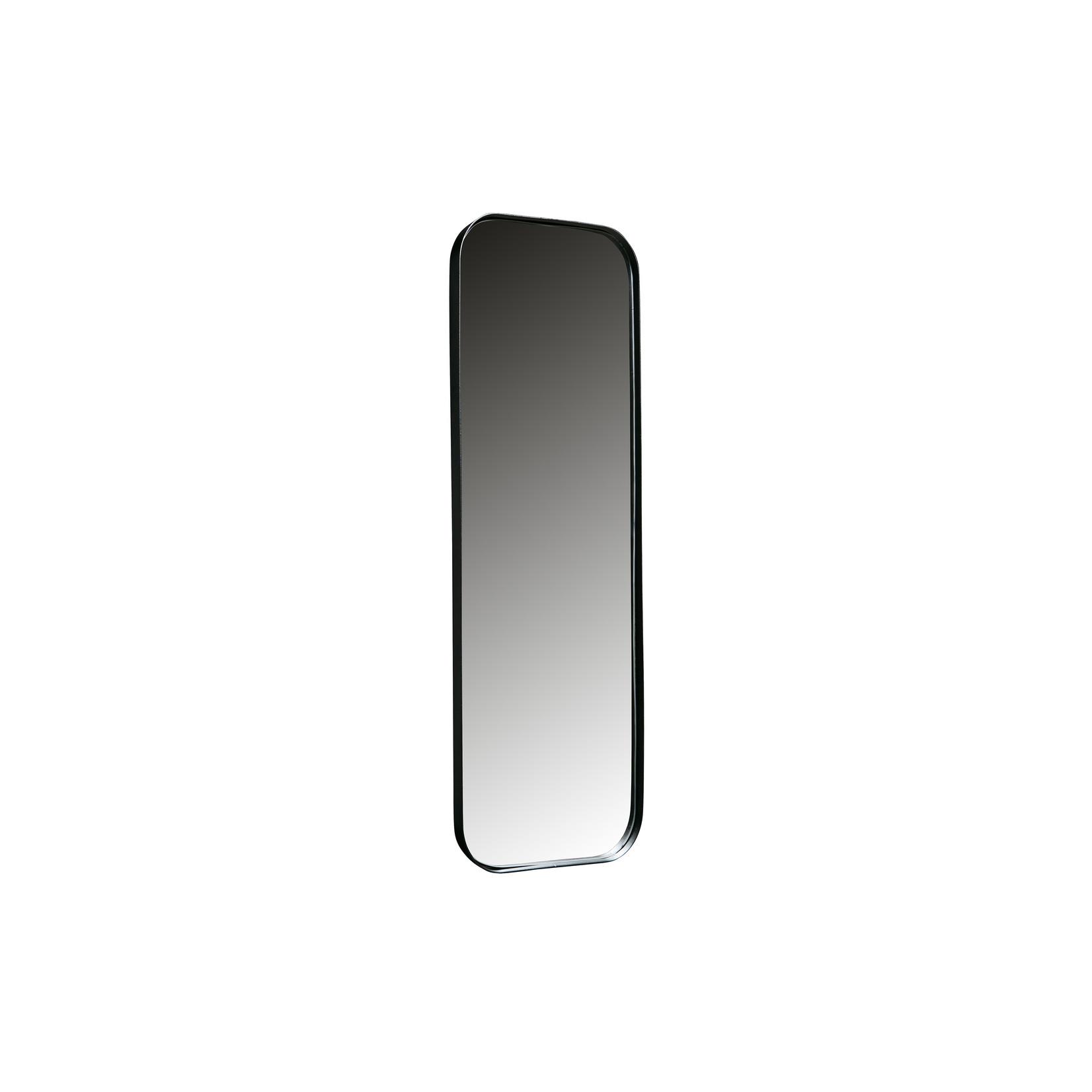 Woood Doutzen Spiegel Metaal Zwart 170x40cm