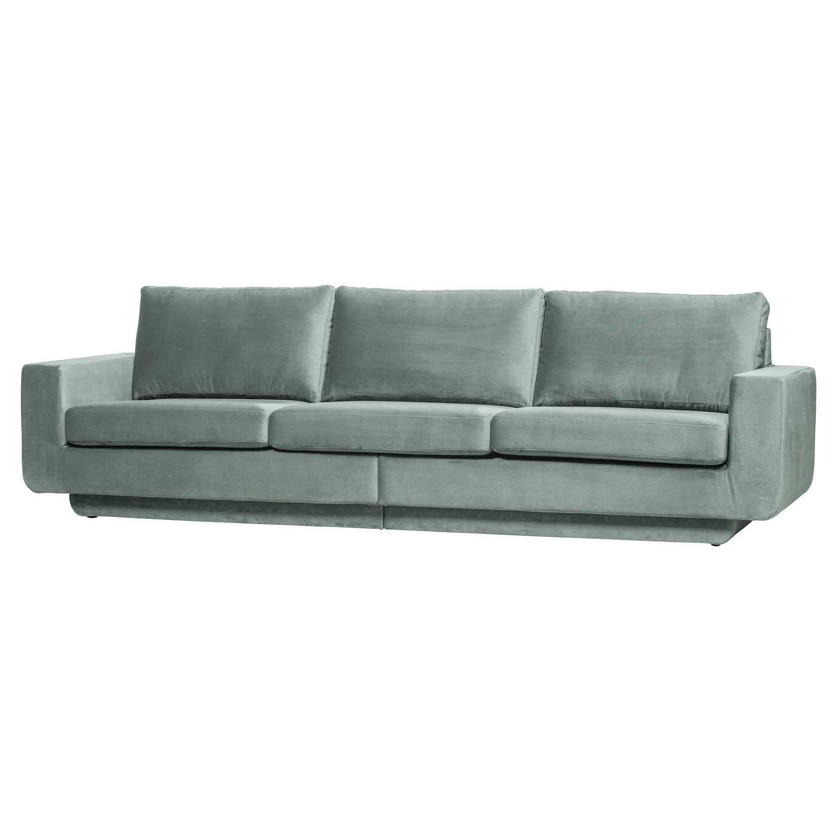 Be Pure Home Fame Bank 3-zits Velvet Mint