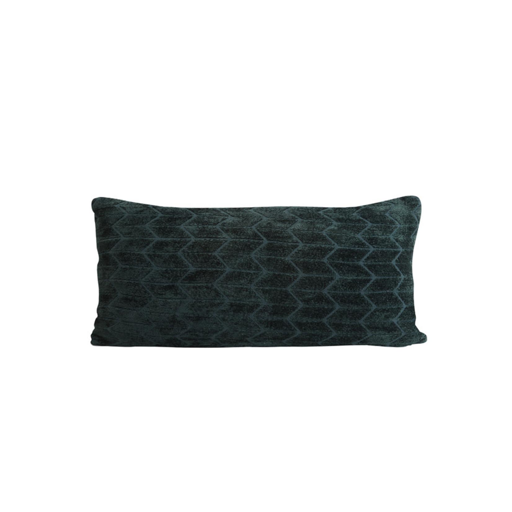 Light & Living Kussen 60x30 cm MUDELI groen