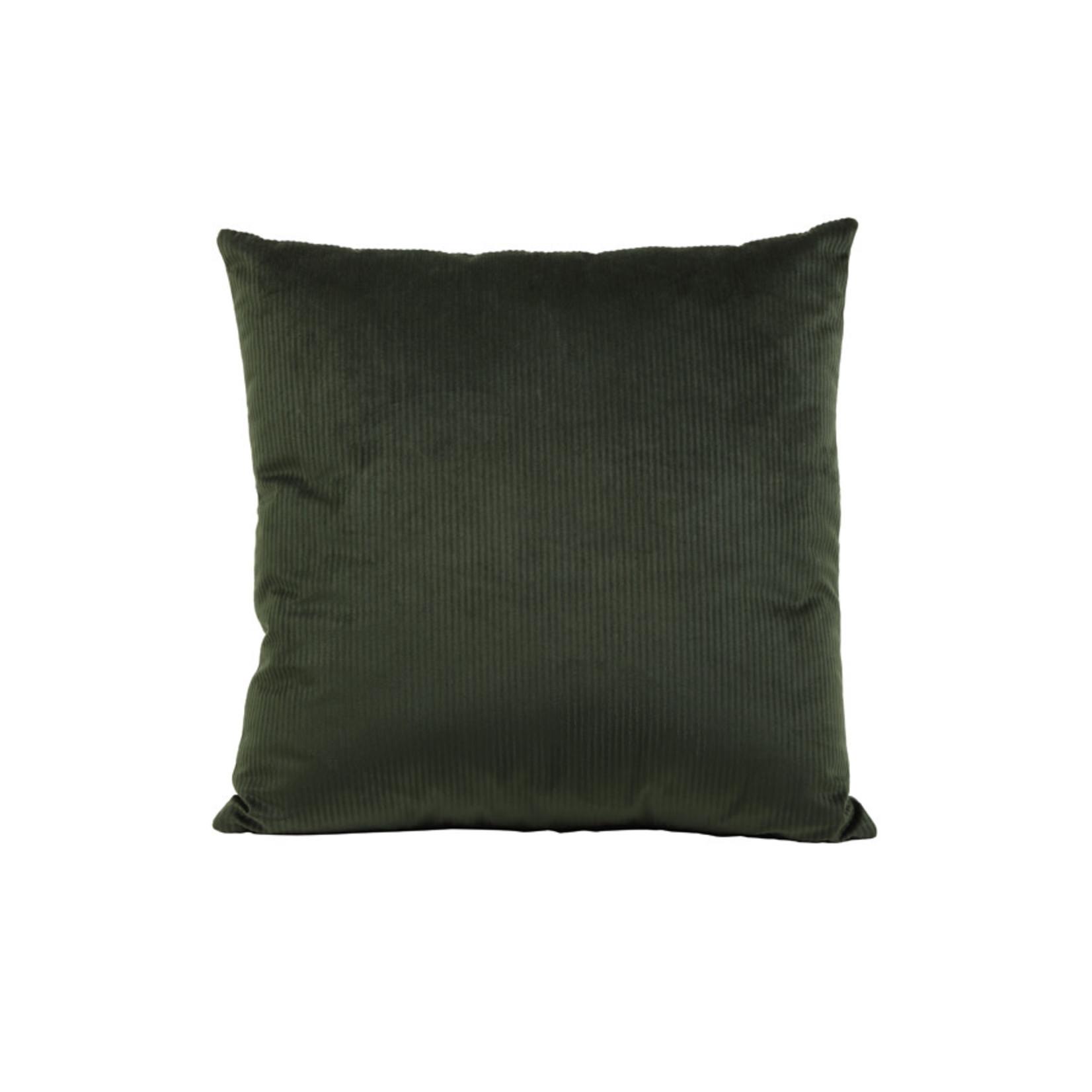 Light & Living Kussen 45x45 cm JAVAN velvet groen