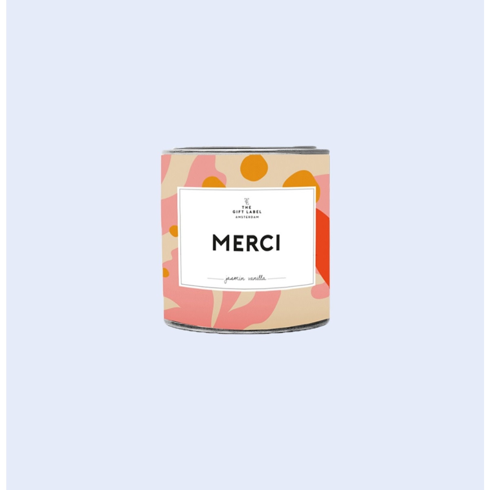 The Gift Label The Gift Label | Tin Candle 90g | Merci