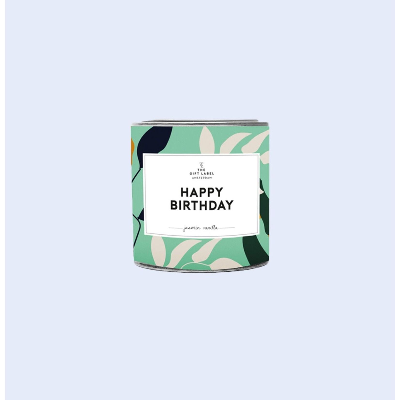 The Gift Label The Gift Label   Tin Candle 90g   Happy Birthday