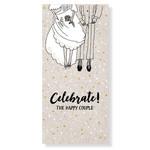 Jots Jots Wenskaart Celebrate the Happy Couple