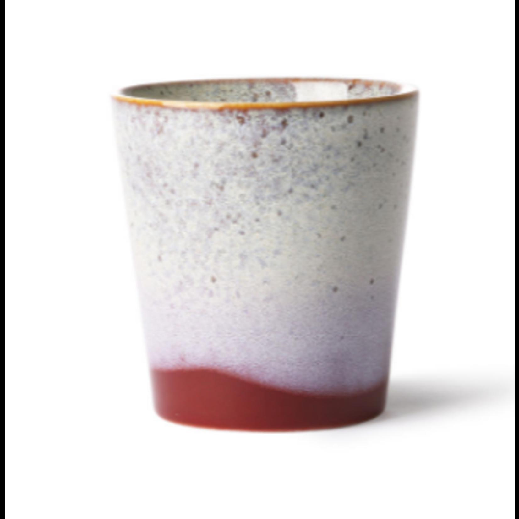 HK Living HK Living Ceramic 70's Mug Frost
