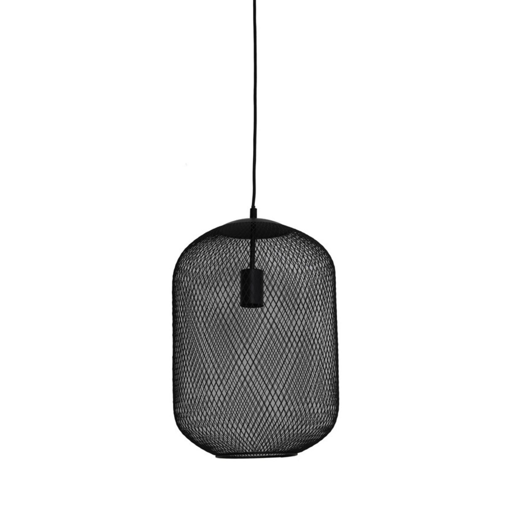 Light & Living Hanglamp Ø30x42 cm REILLEY mat zwart