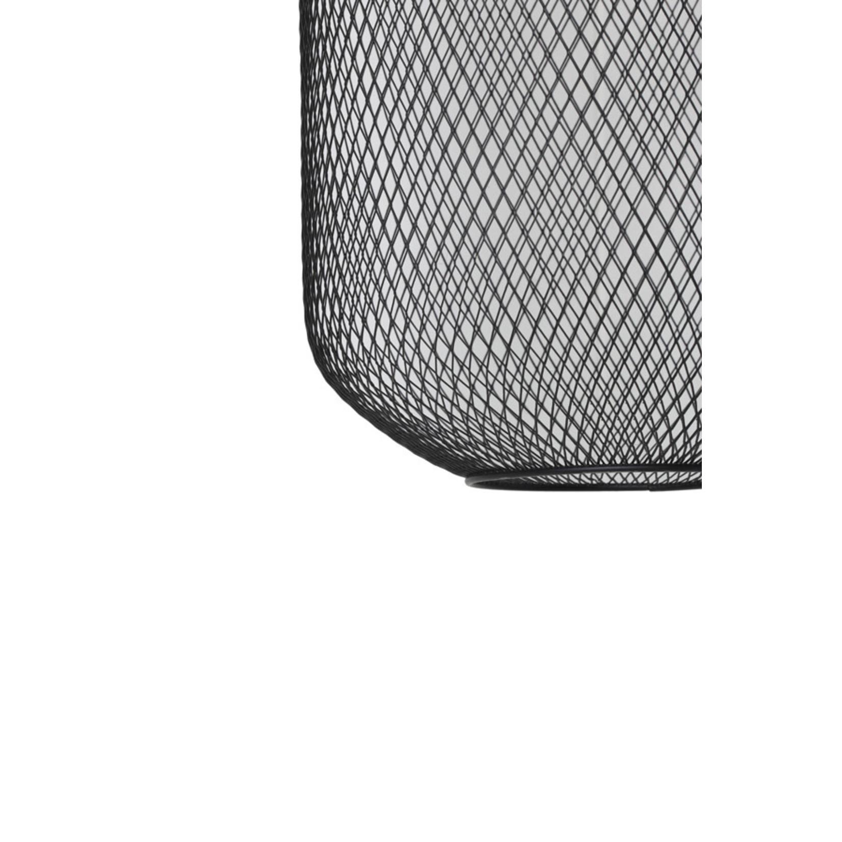 Light & Living Hanglamp Ø40x48 cm REILLEY mat zwart
