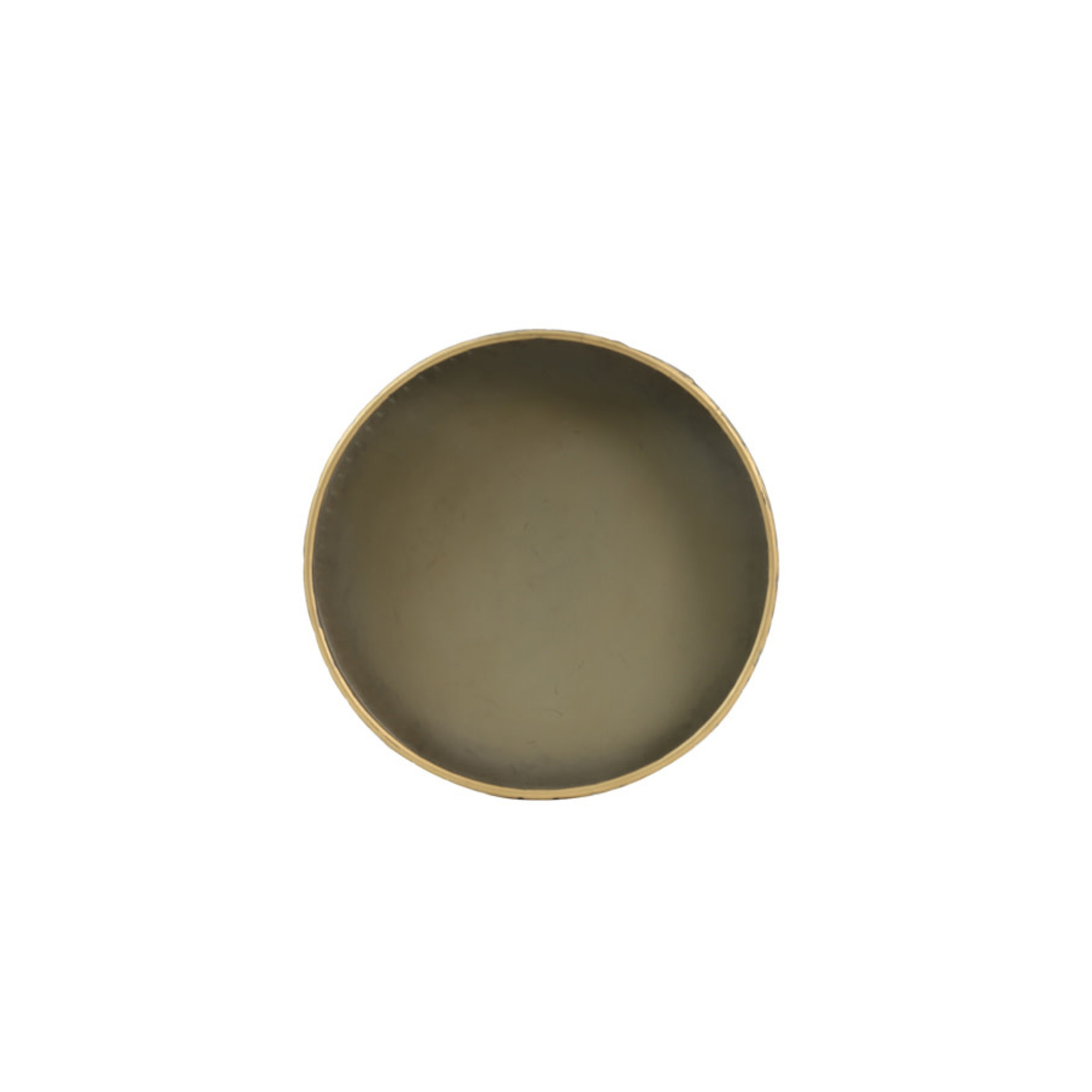 Light & Living Dienblad Ø30x6,5 cm STAVO tin brons