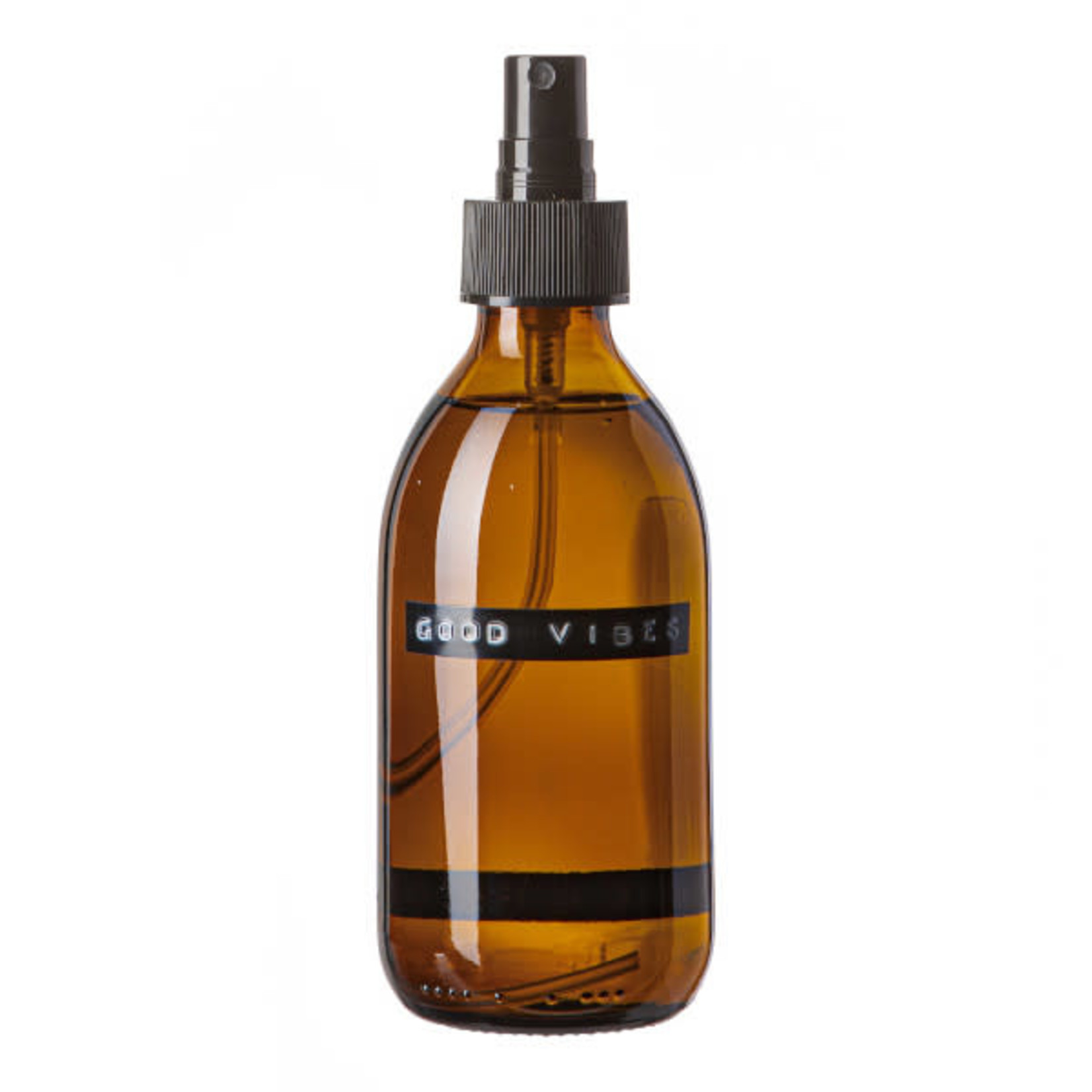 WELLmark WELLmark Roomspray bruin glas - cedarwood 250ml 'good vibes'
