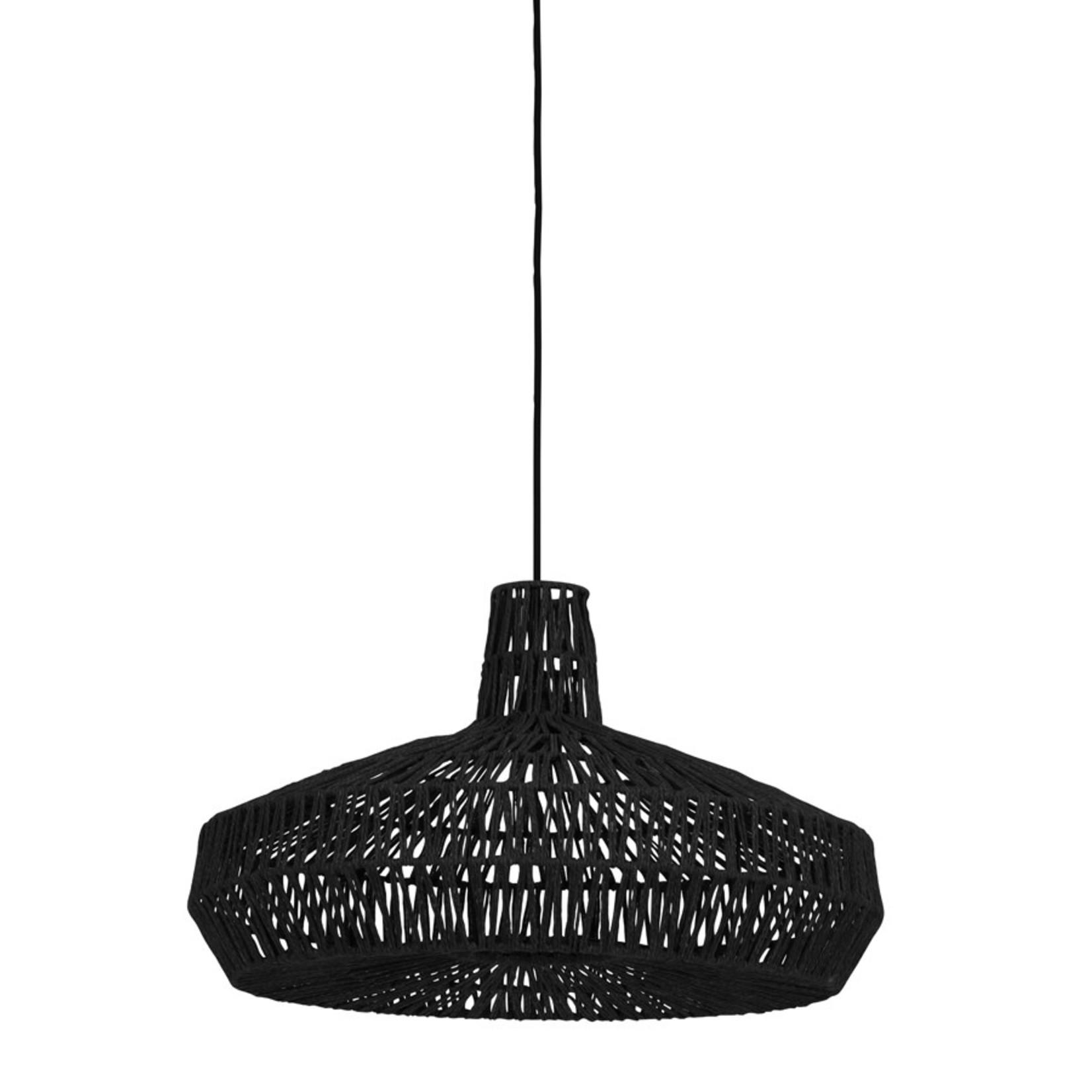 Light & Living Hanglamp Ø59x35 cm MASEY zwart