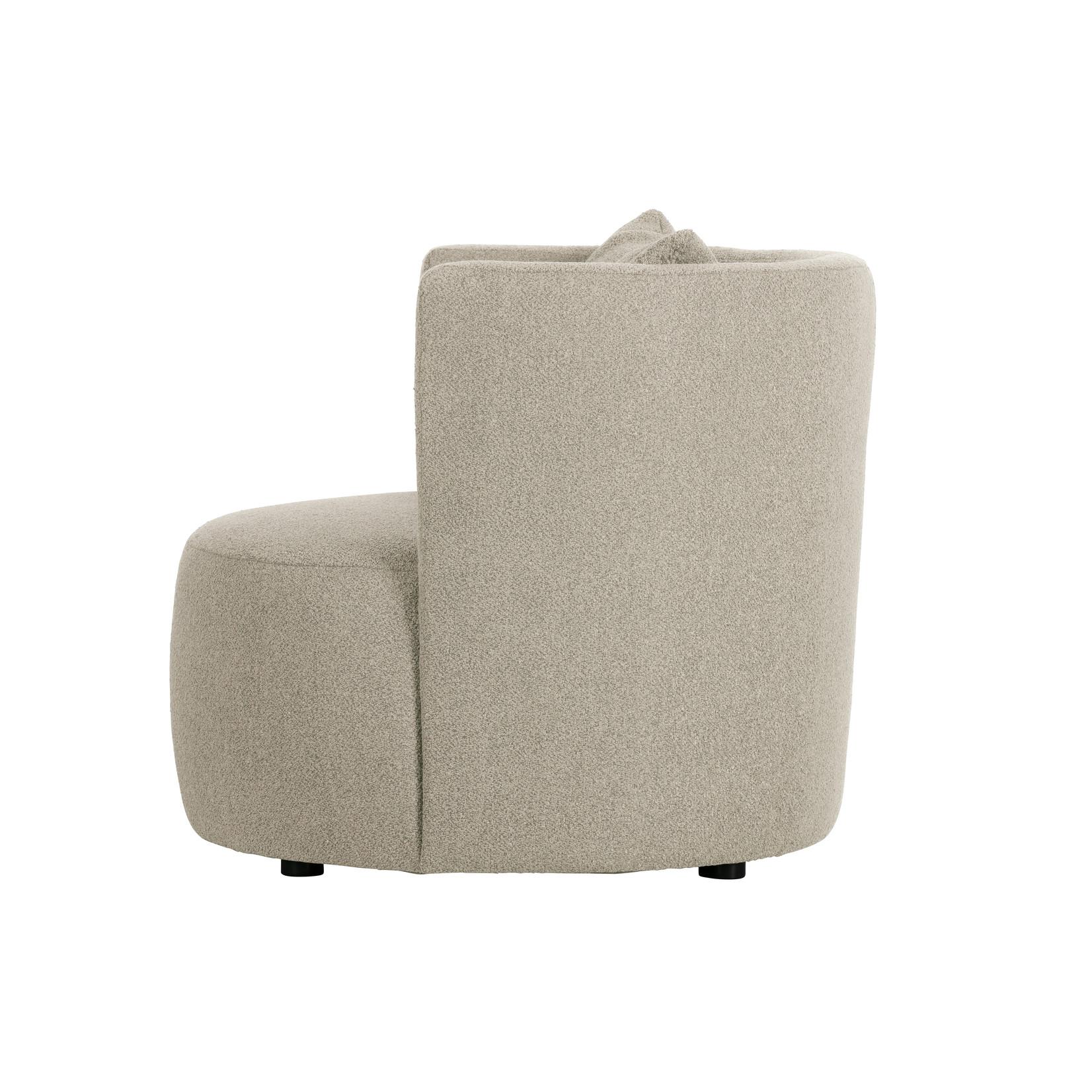 vtwonen Explore fauteuil bouclÉ naturel