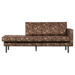 Be Pure Home Rodeo daybed right velvet bouquet chestnut