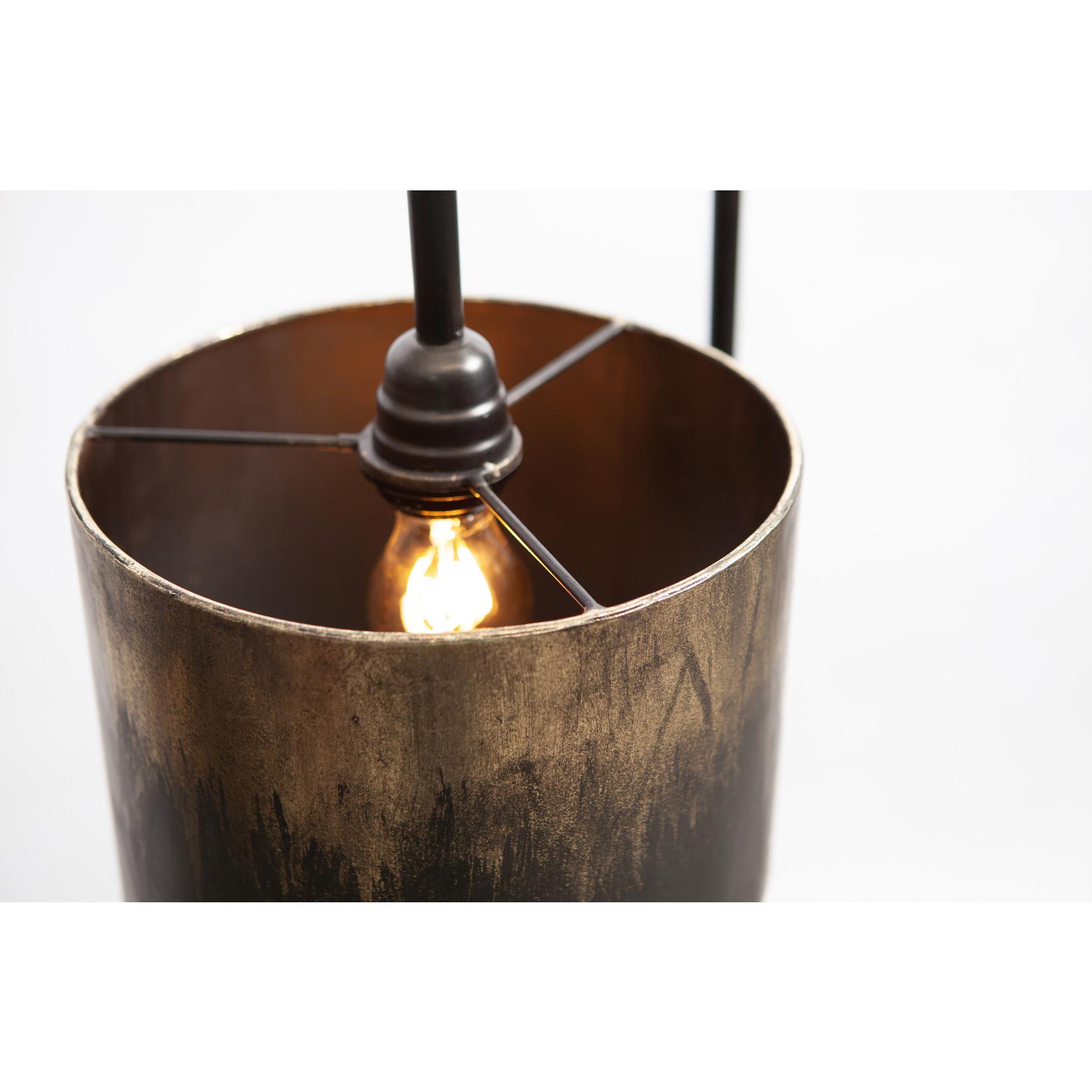 Be Pure Home Blackout vloerlamp metaal zwart