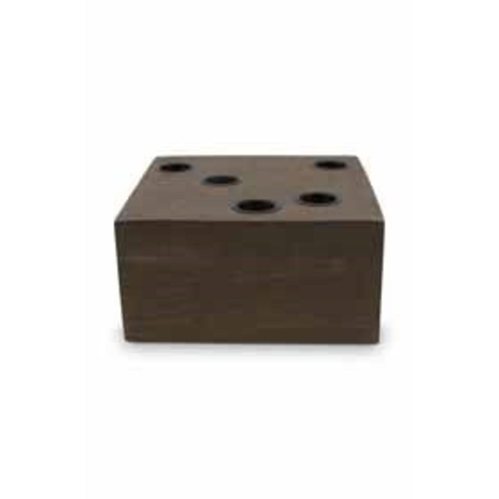 vtwonen vtwonen | Kandelaar block reversibele 15x15cm*