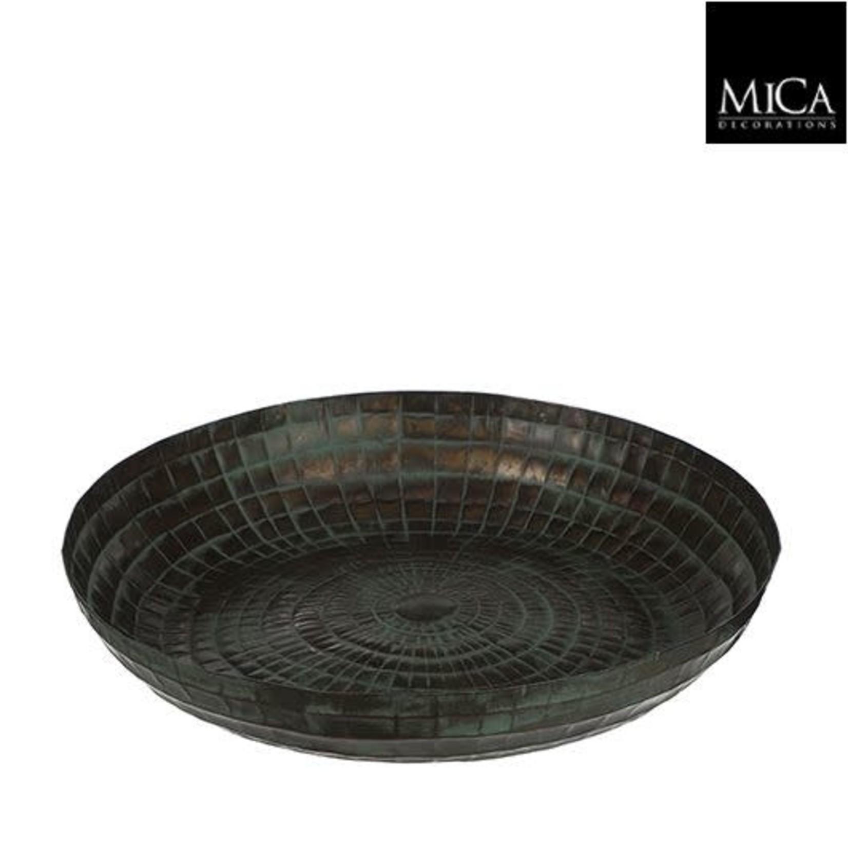 Mica Azra Bord Groen 6x39cm