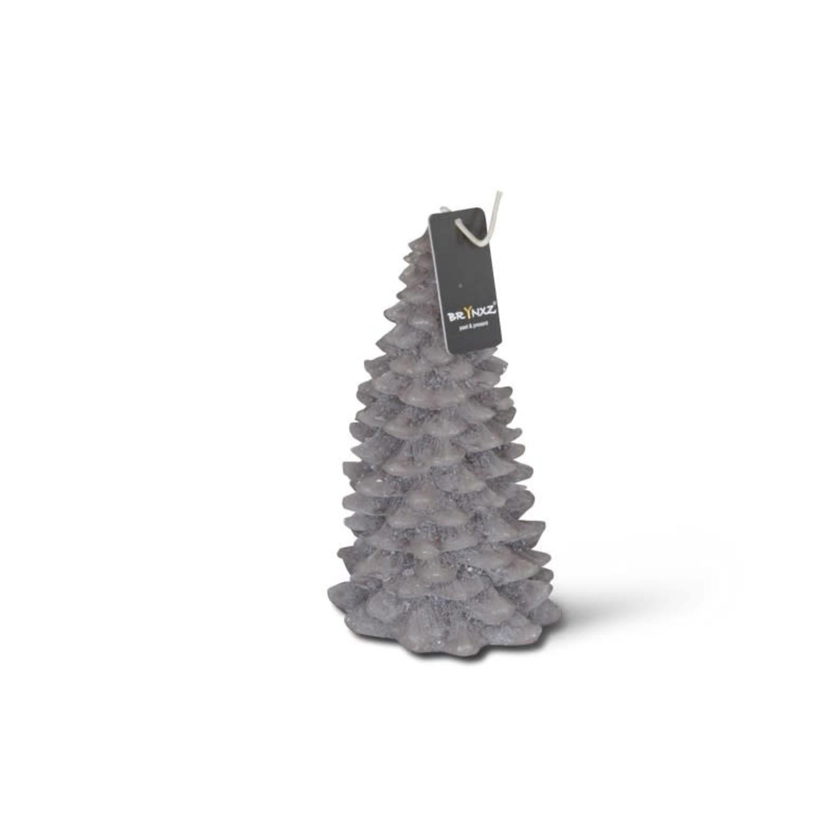 Brynxz Brynxz candle x-tree classic mystic grey L 9x17cm