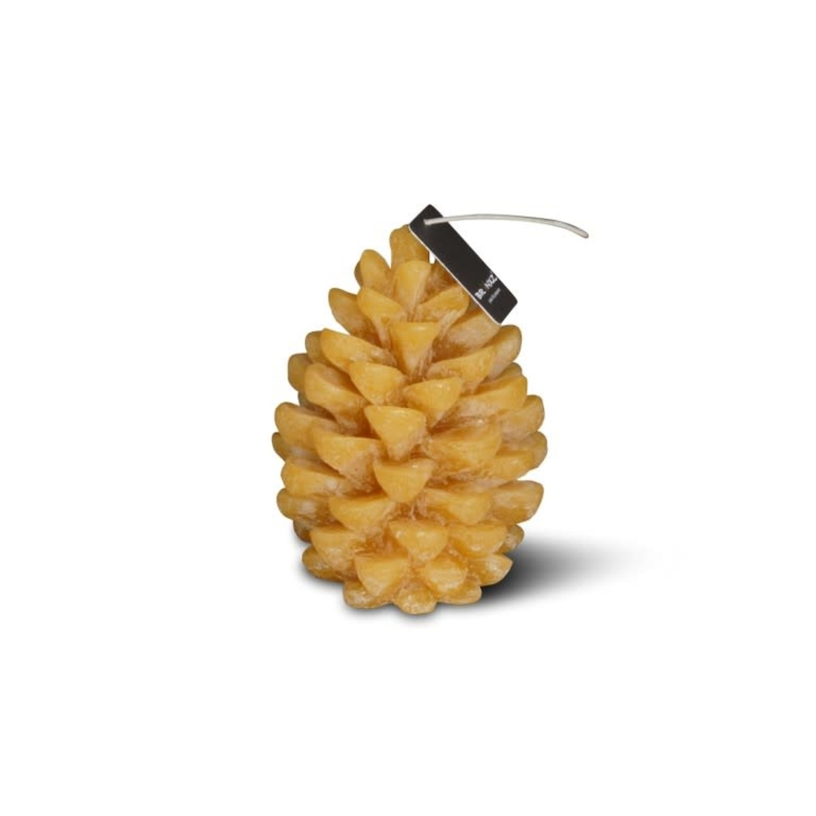 Brynxz Brynxz candle pine cone honey yellow