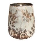 PTMD Harron Silver glass flower etched stormlight M