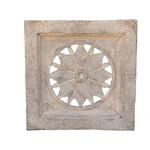 PTMD Gioia Grey stone fiberglass panel circle inside