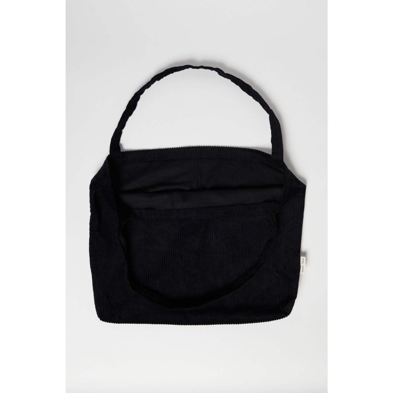 Studio Noos Black rib mom-bag   Studio Noos