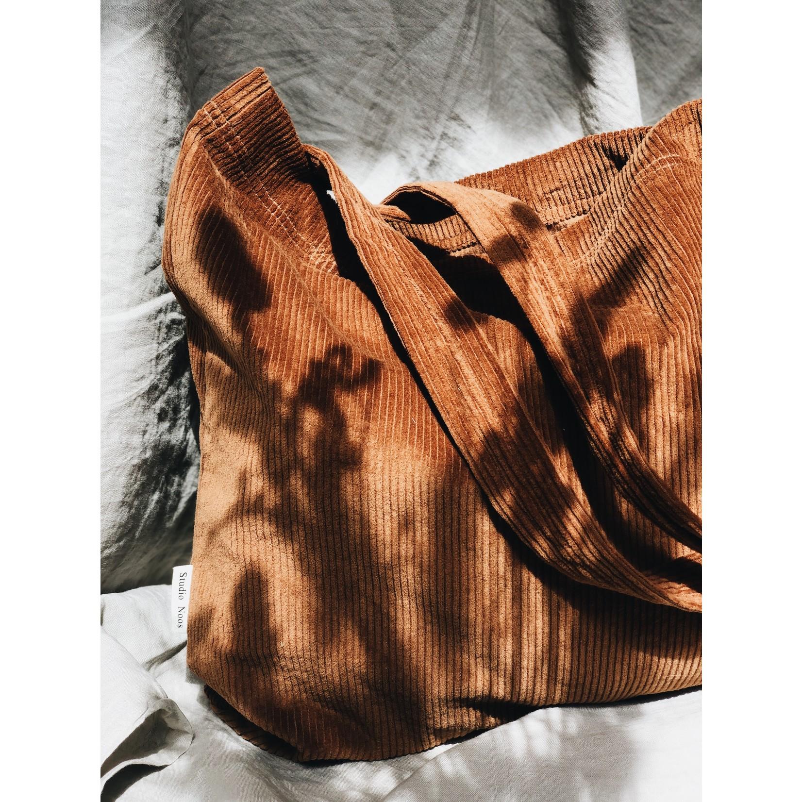 Studio Noos Brown-ie rib mom-bag | Studio Noos