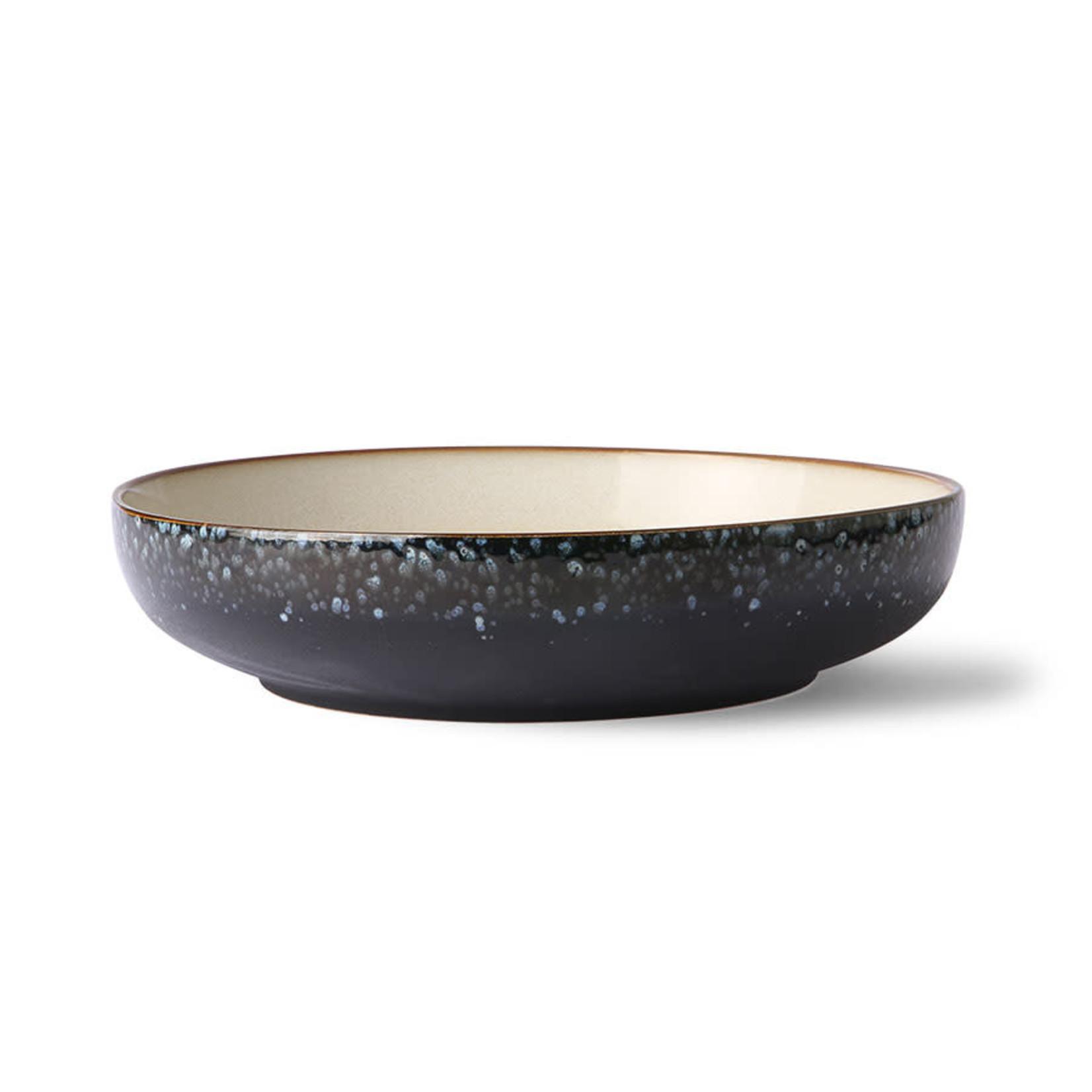 HK Living Hk Living Ceramic 70's Salad Bowl: Galaxy
