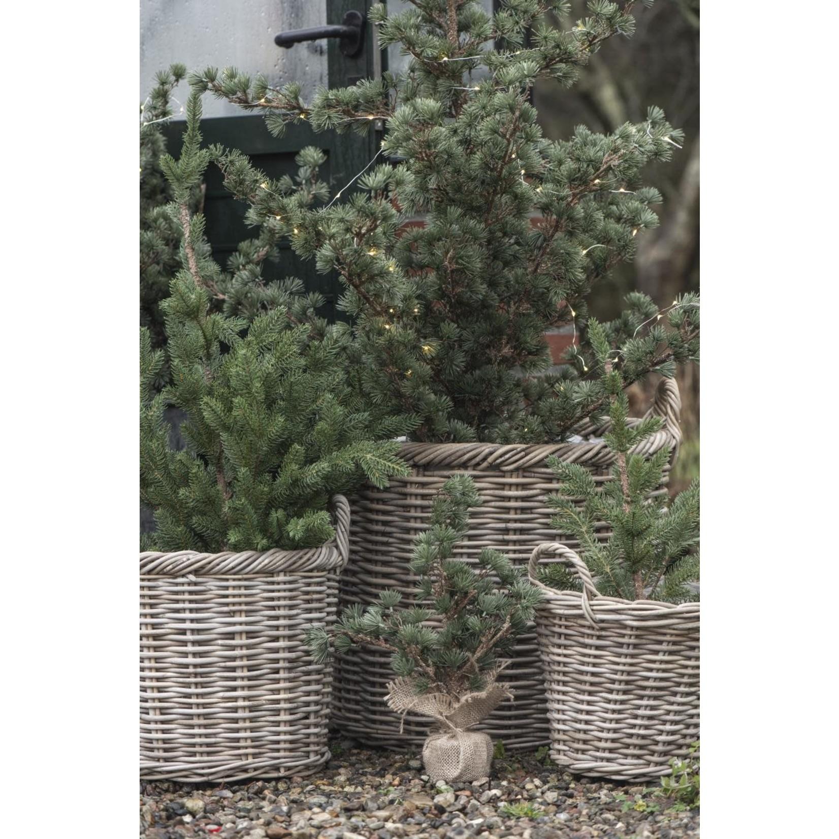 IB Laursen IB Laursen Cedar met jute  34 cm
