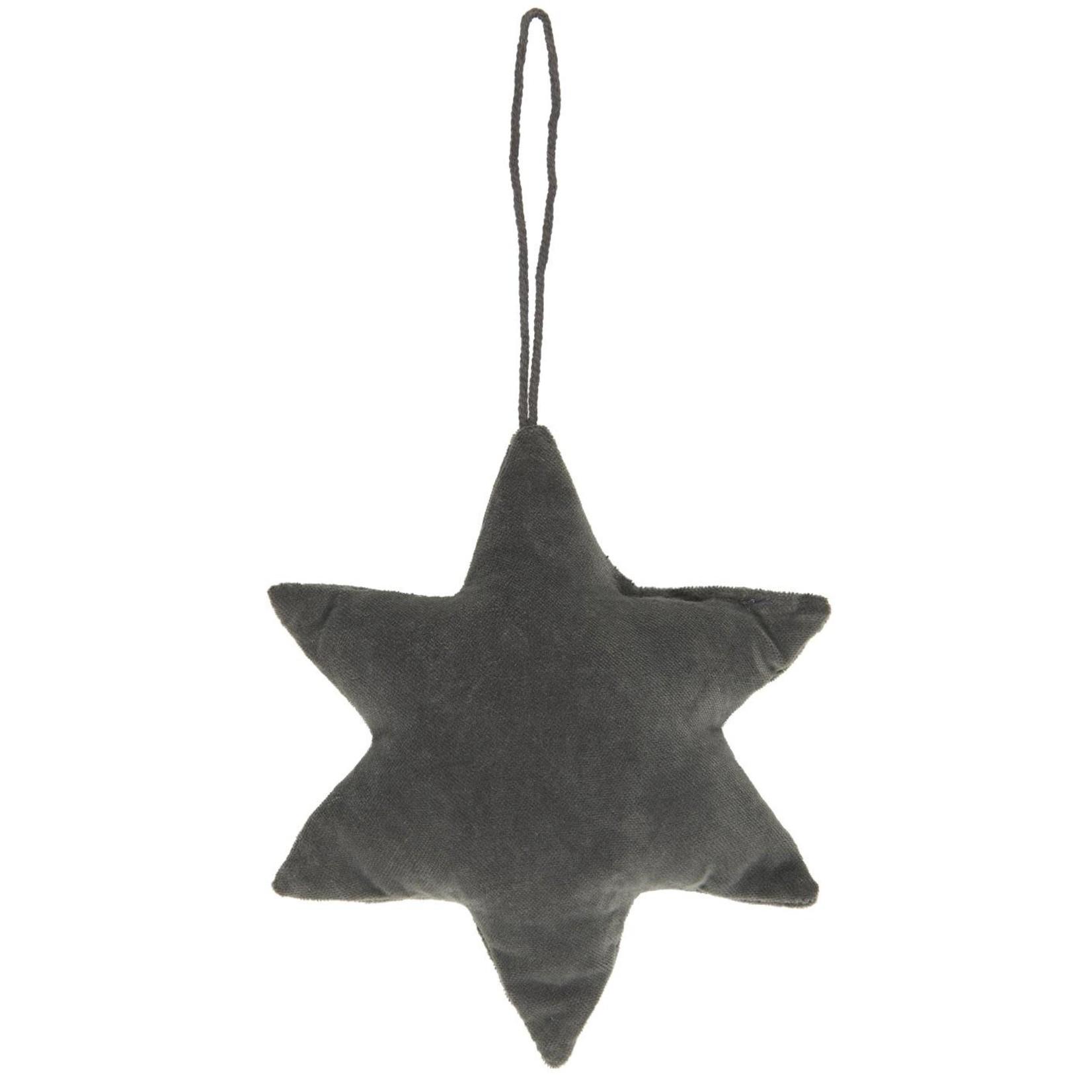 IB Laursen IB Laursen star velvet dark grey