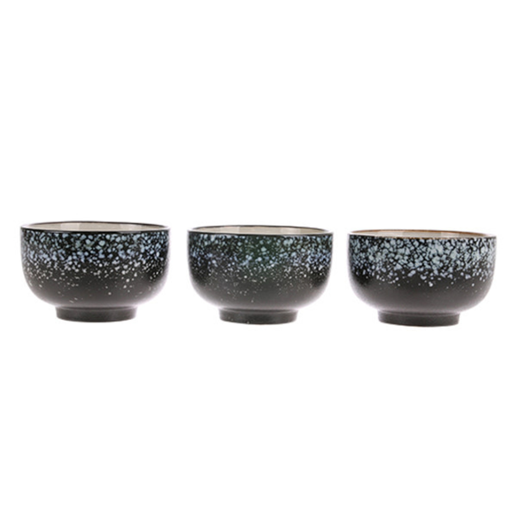 HK Living HK Living Ceramic 70's Noodle bowl Galaxy