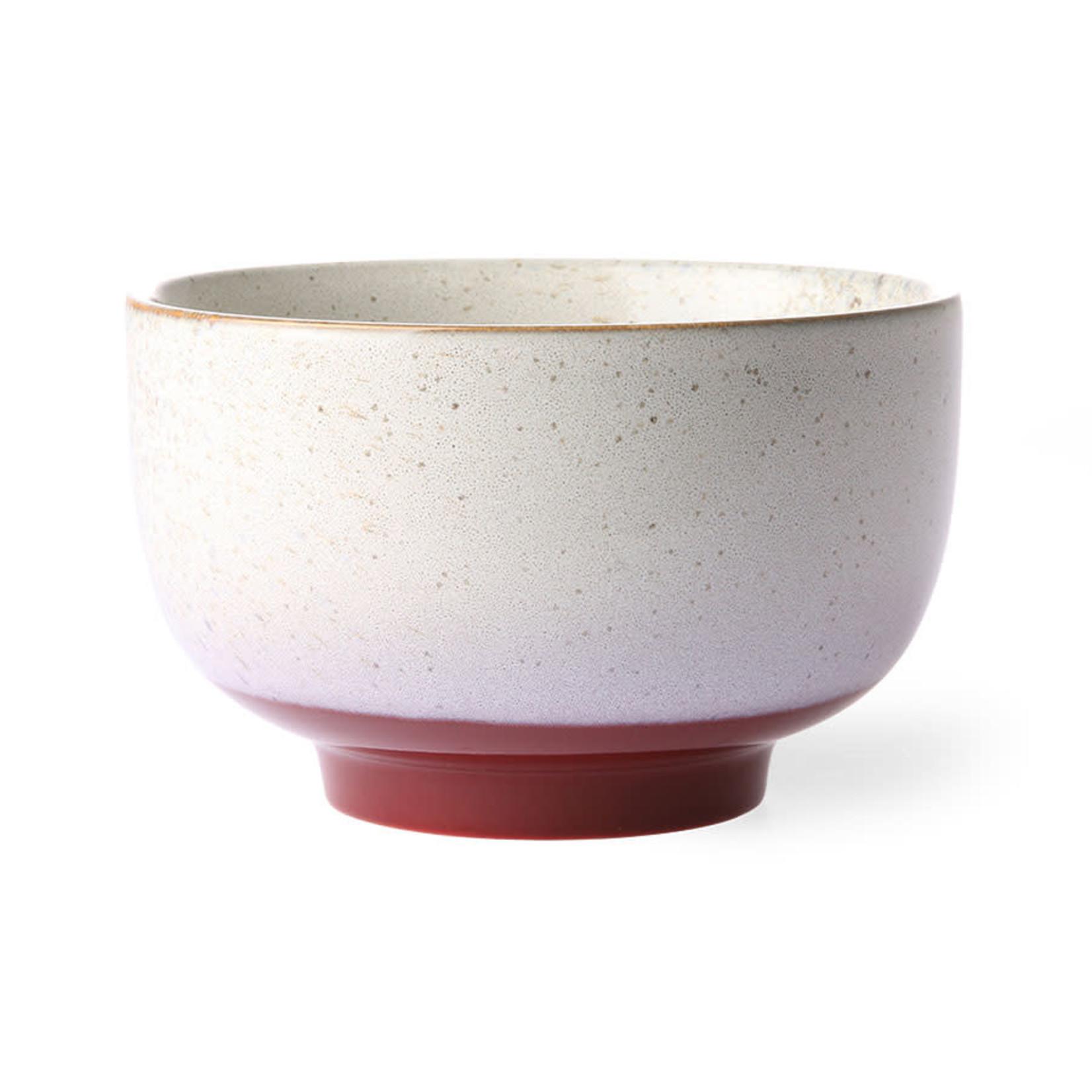 HK Living HK Living Ceramic 70's Noodle bowl Frost