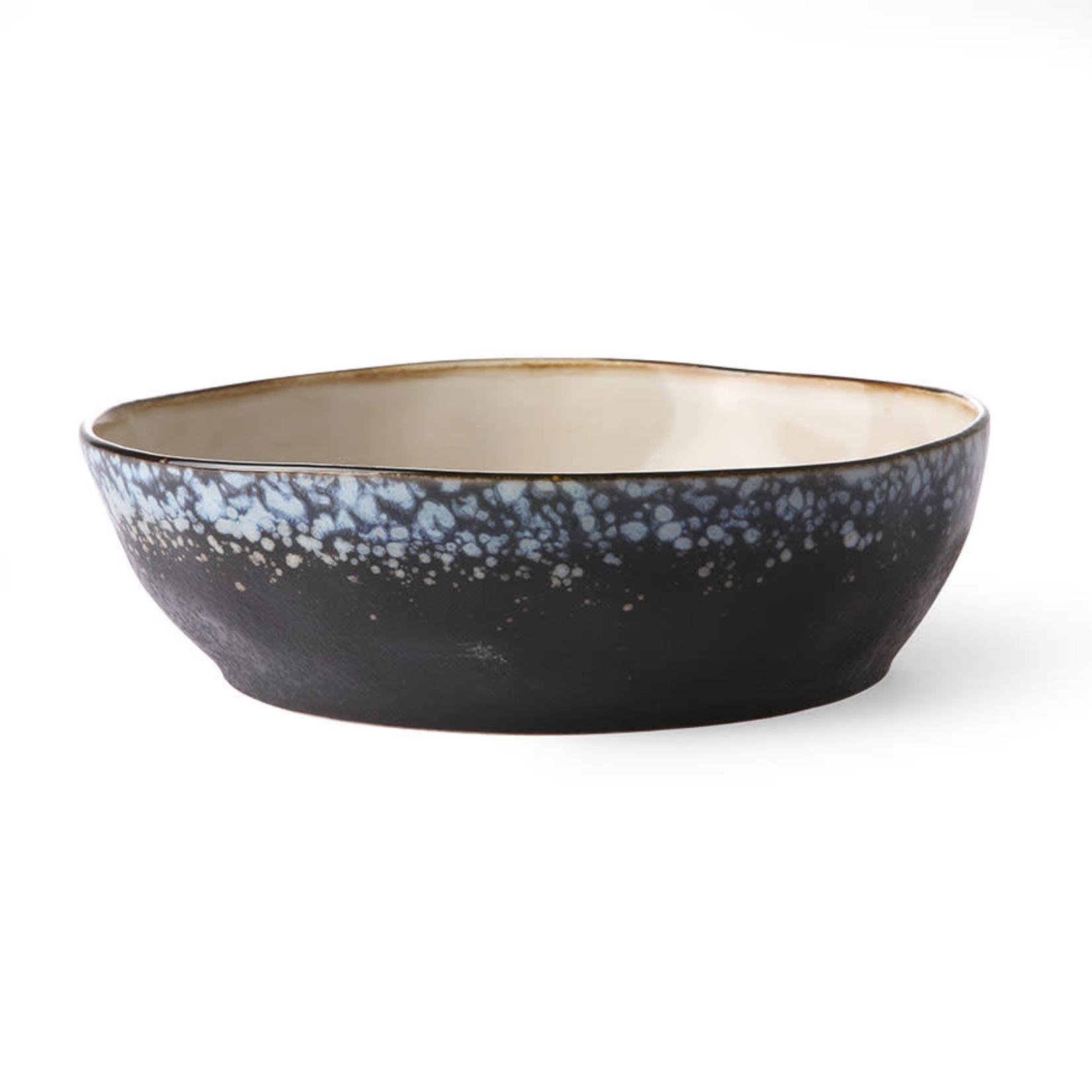 HK Living HK Living Ceramic 70's Pasta bowl Galaxy
