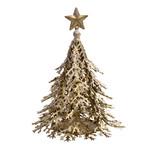 PTMD Christmas Tulsa kerstboom ijzer goud met ster
