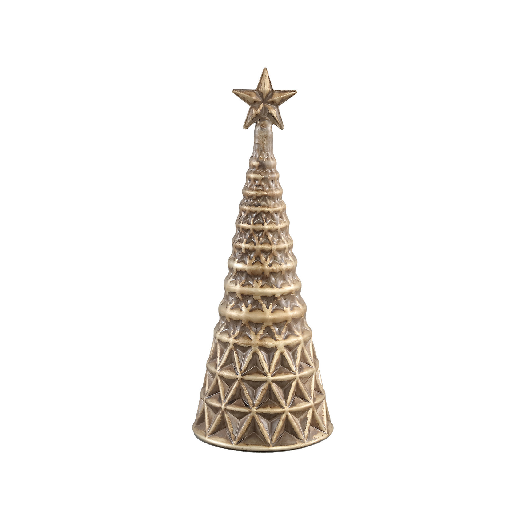 PTMD Christmas Aily glass tree star topper
