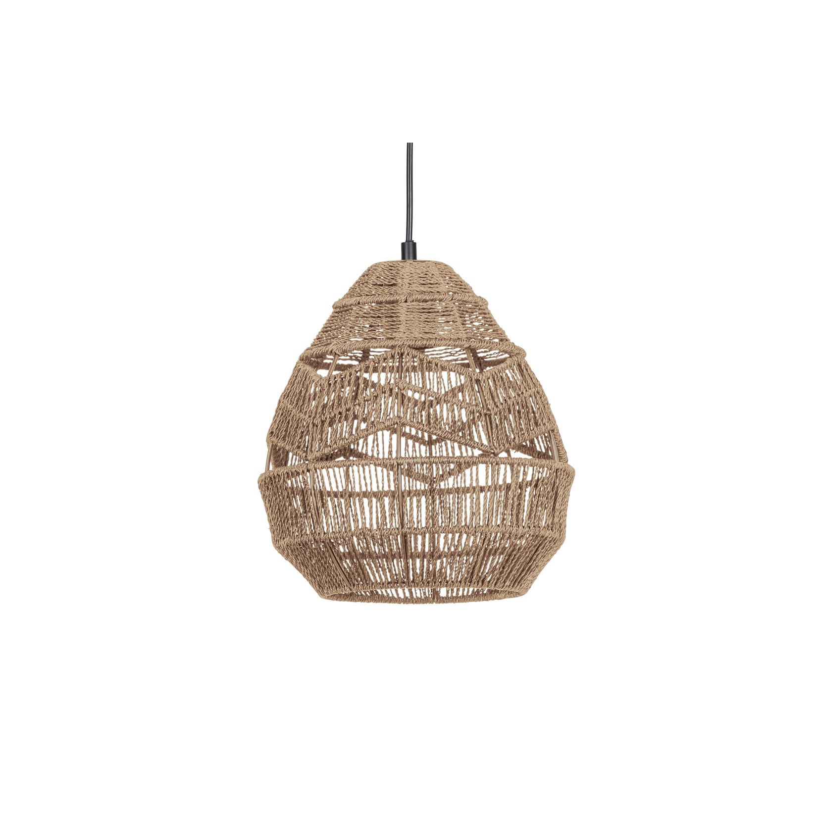Woood Adelaide hanglamp naturel Ø25cm