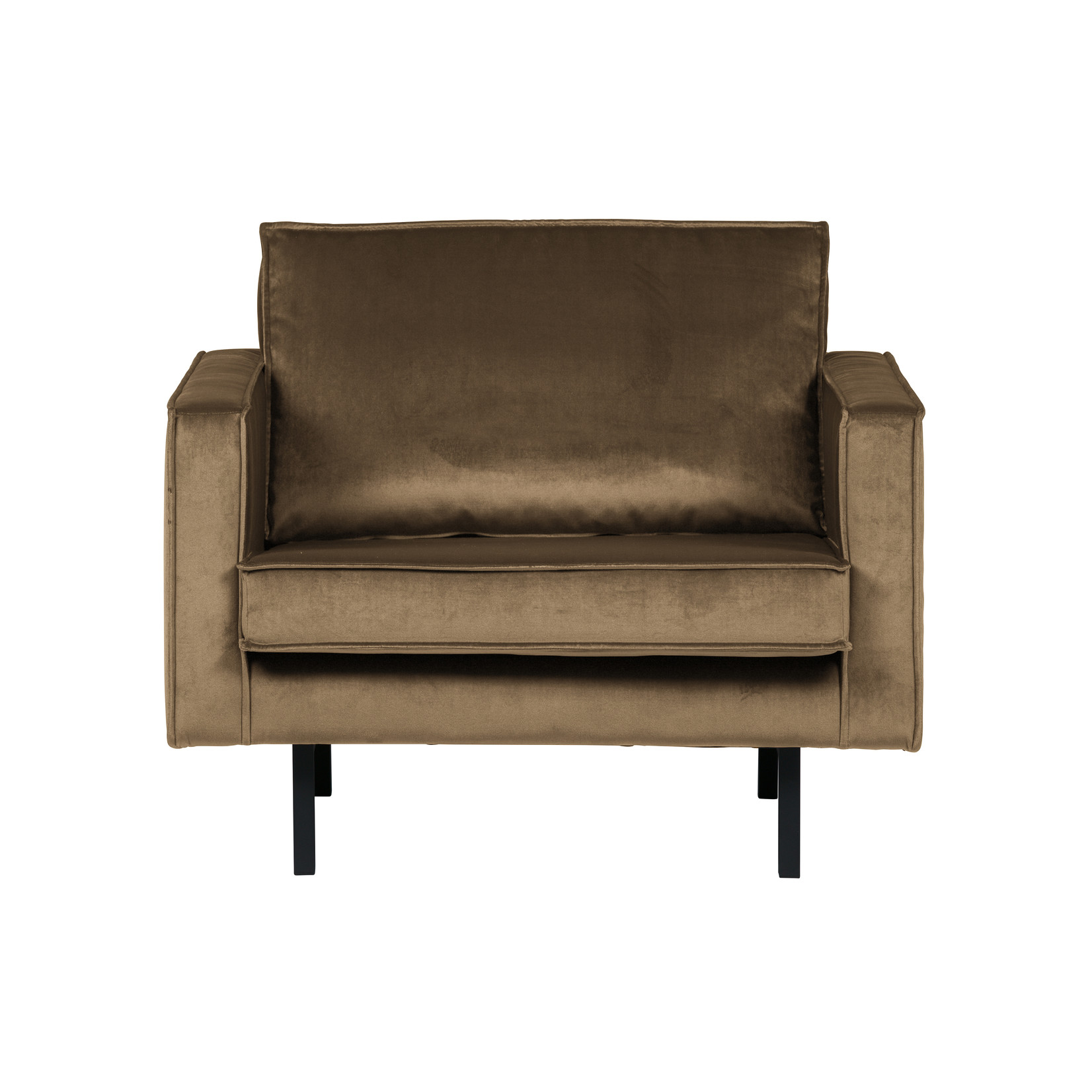 Be Pure Home Rodeo Fauteuil Velvet Taupe