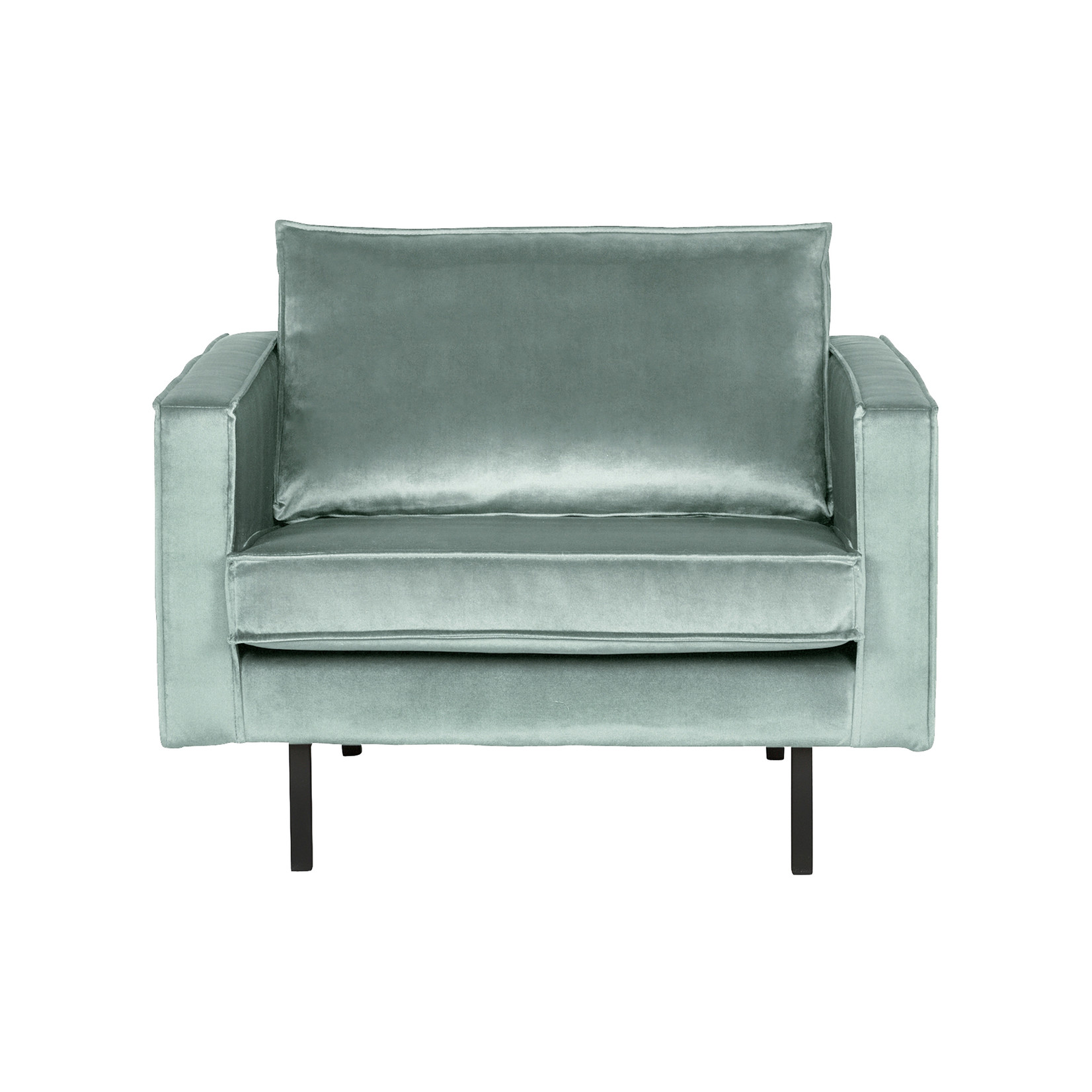 Be Pure Home Rodeo Fauteuil Velvet Mint