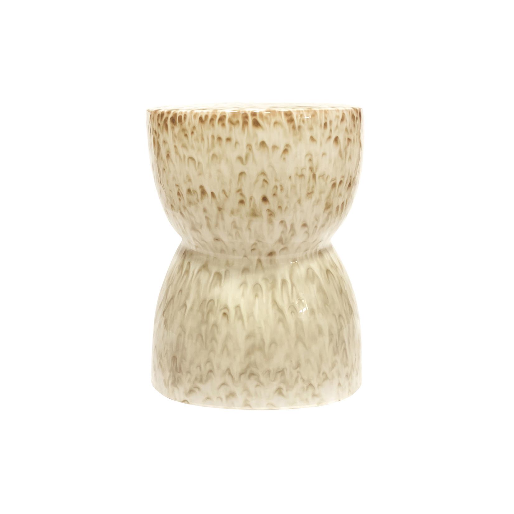 Be Pure Home Glazed kruk ceramic nougat 43xØ33cm*