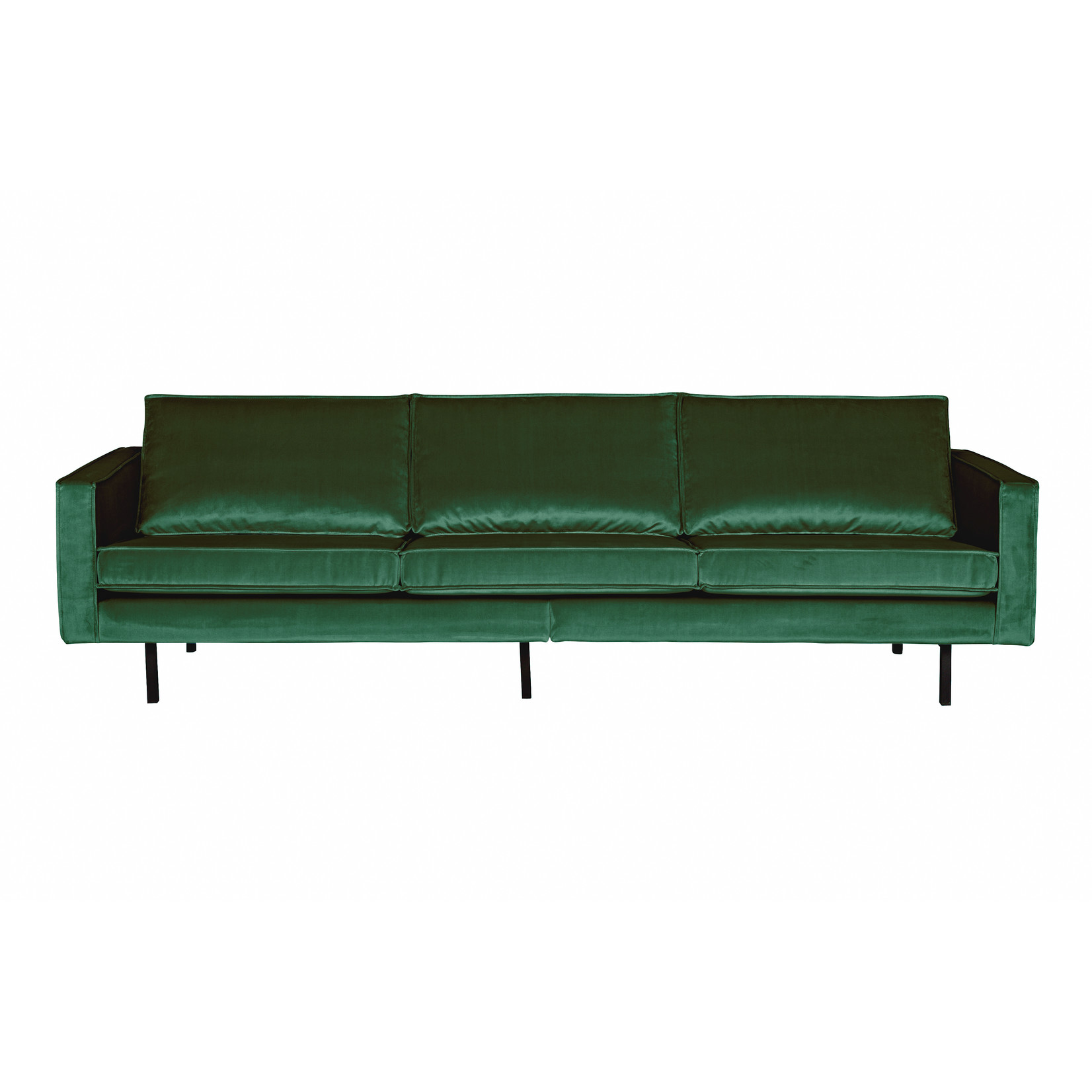 Be Pure Home Rodeo Bank 3-zits Velvet Green Forest