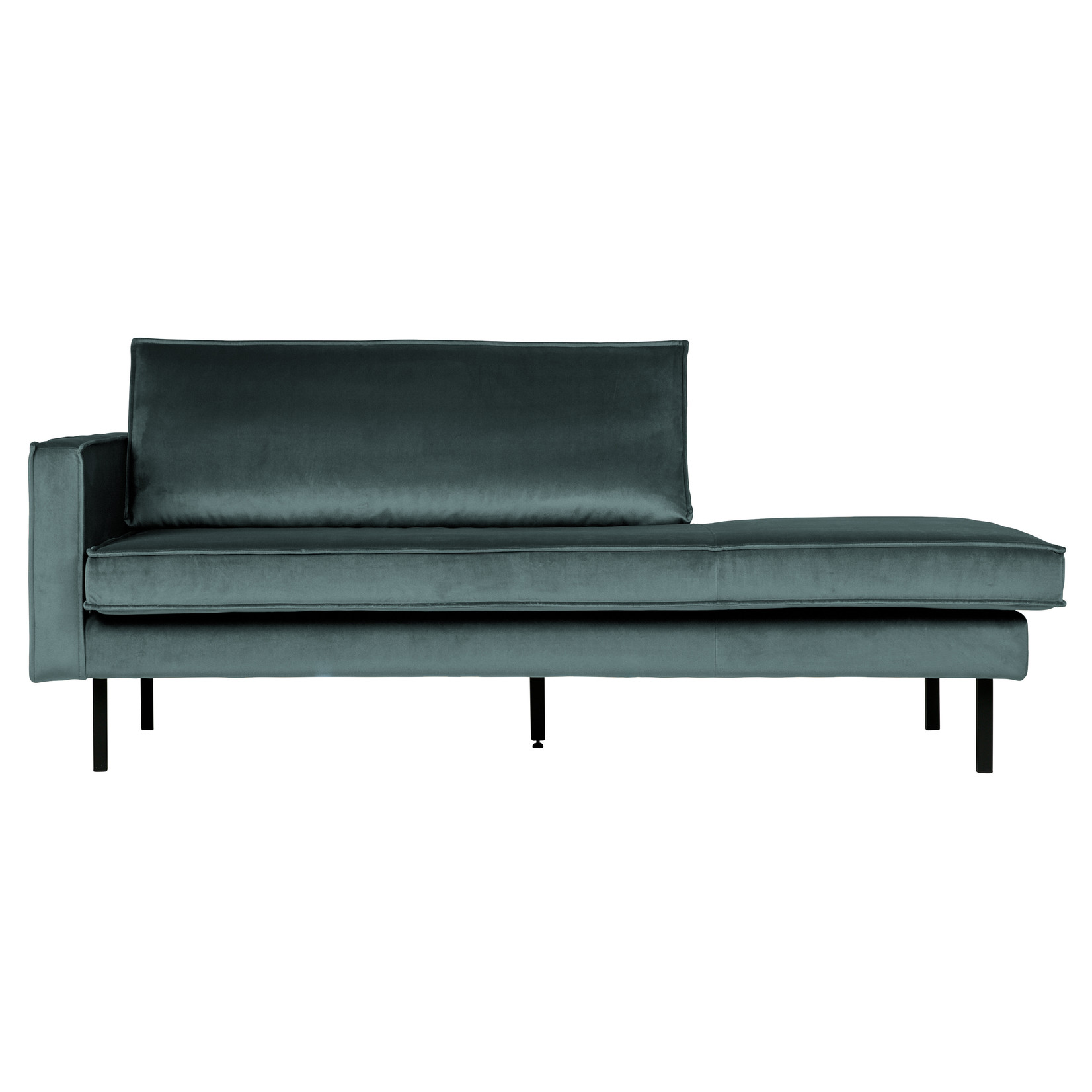 Be Pure Home Rodeo Daybed Left Velvet Teal