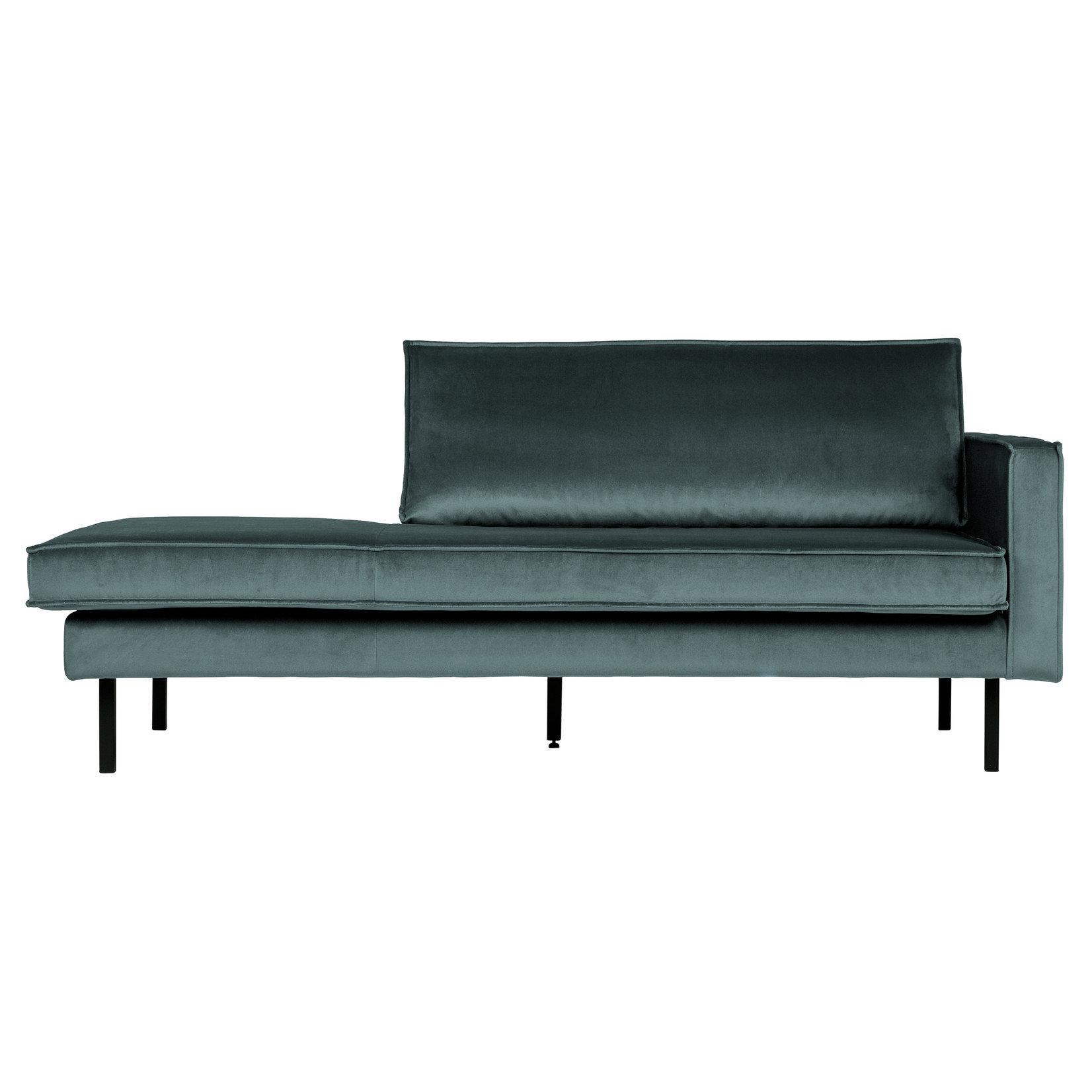 Be Pure Home BePureHome Rodeo Daybed Right Velvet Teal