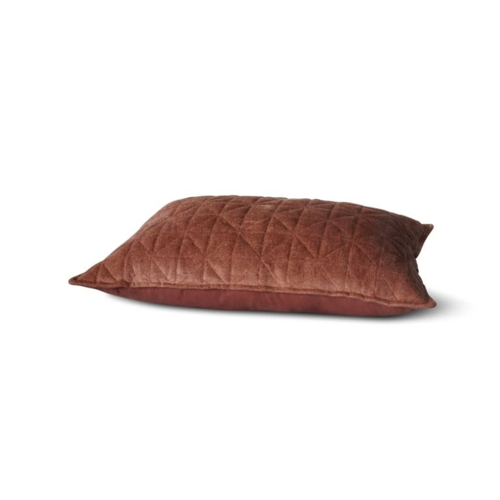 Brynxz Brynxz | Kussen chenille cognac 40x60cm
