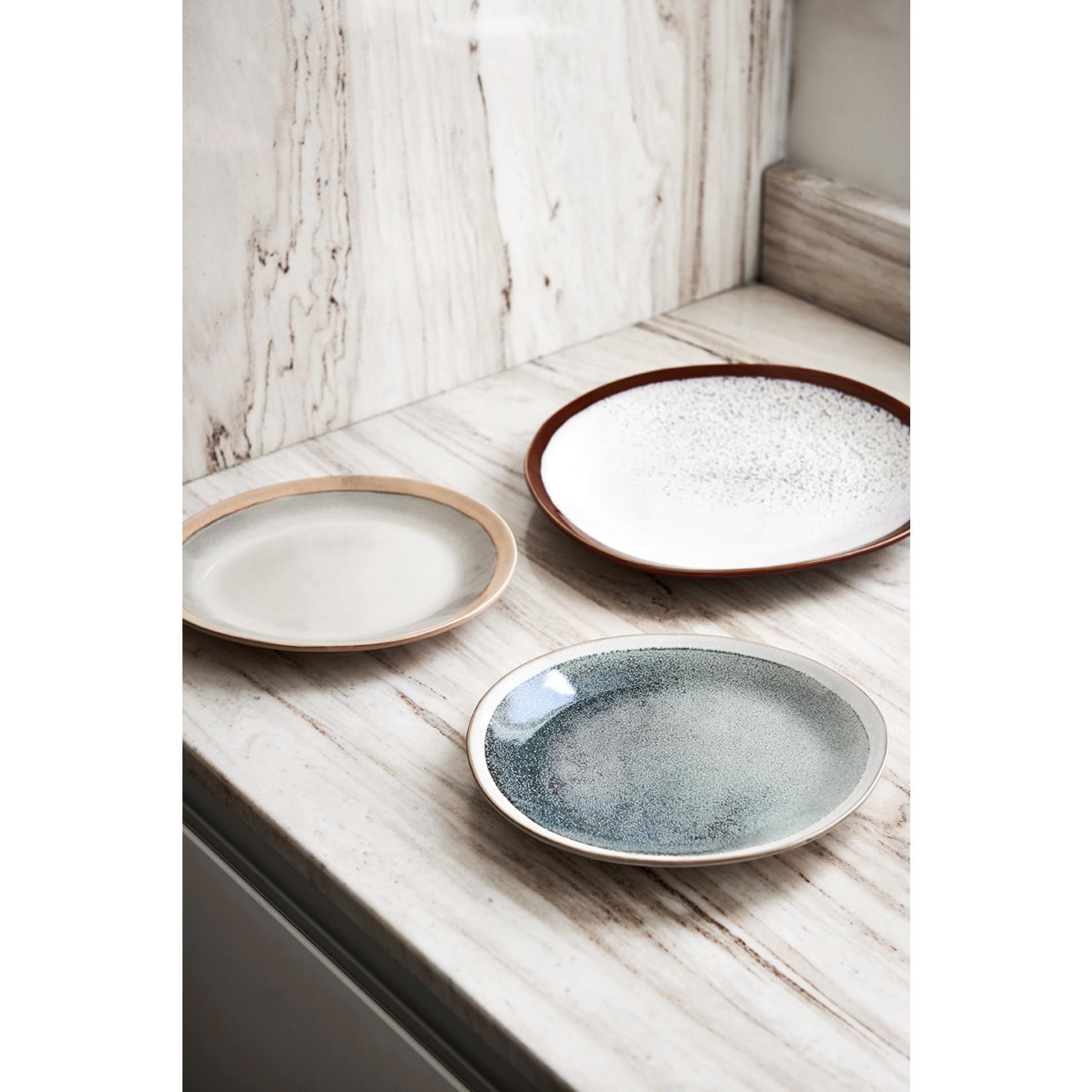 HK Living HK Living Ceramic 70's Side Plate Mist